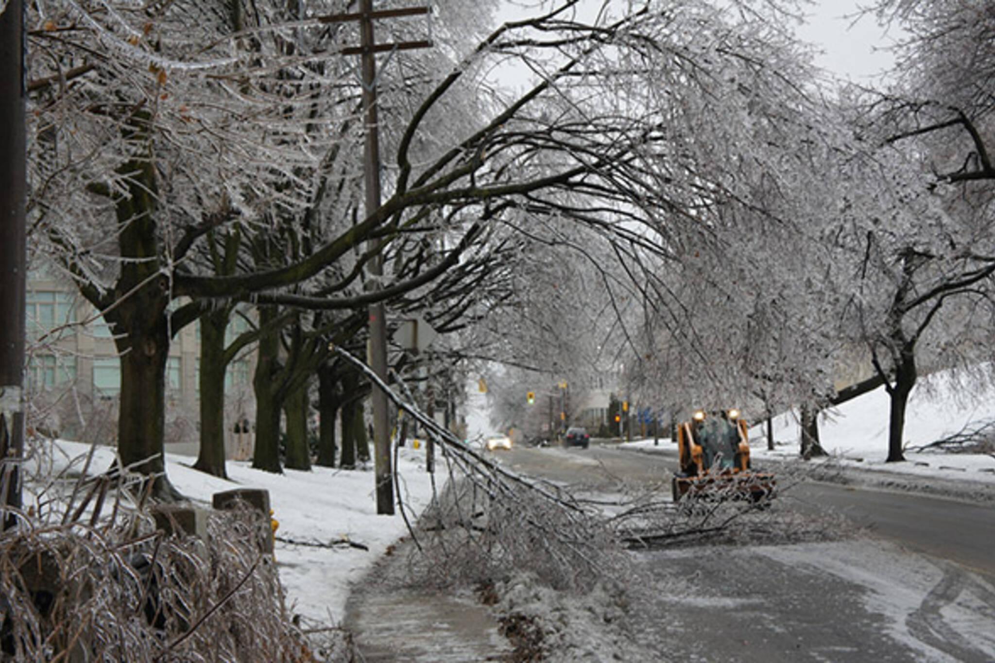 Ice storm cost toronto
