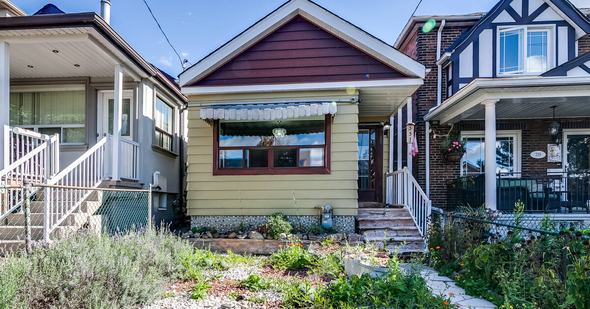 This is the cheapest detached house you can get in Toronto right now