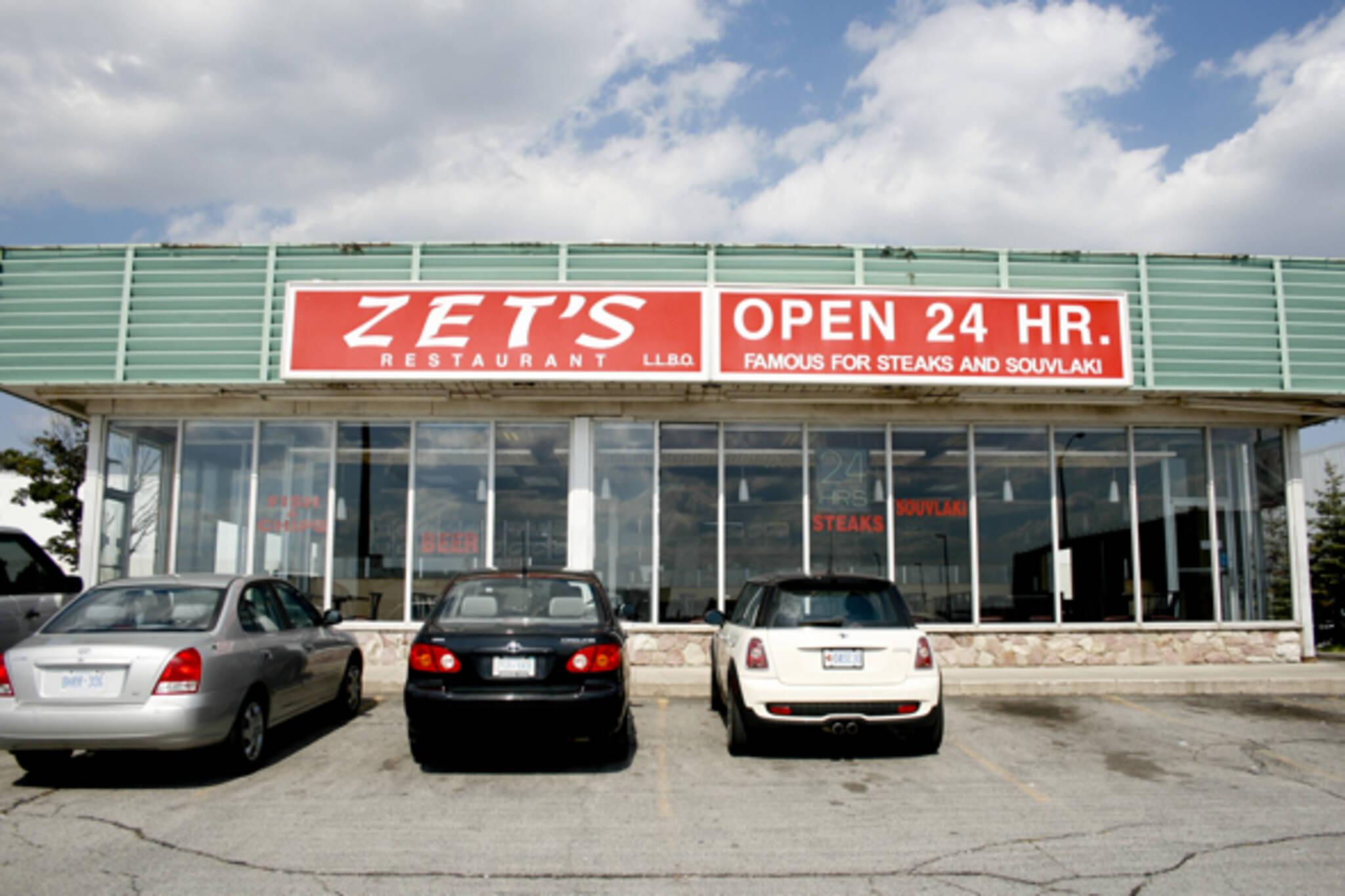 24 hours restaurants