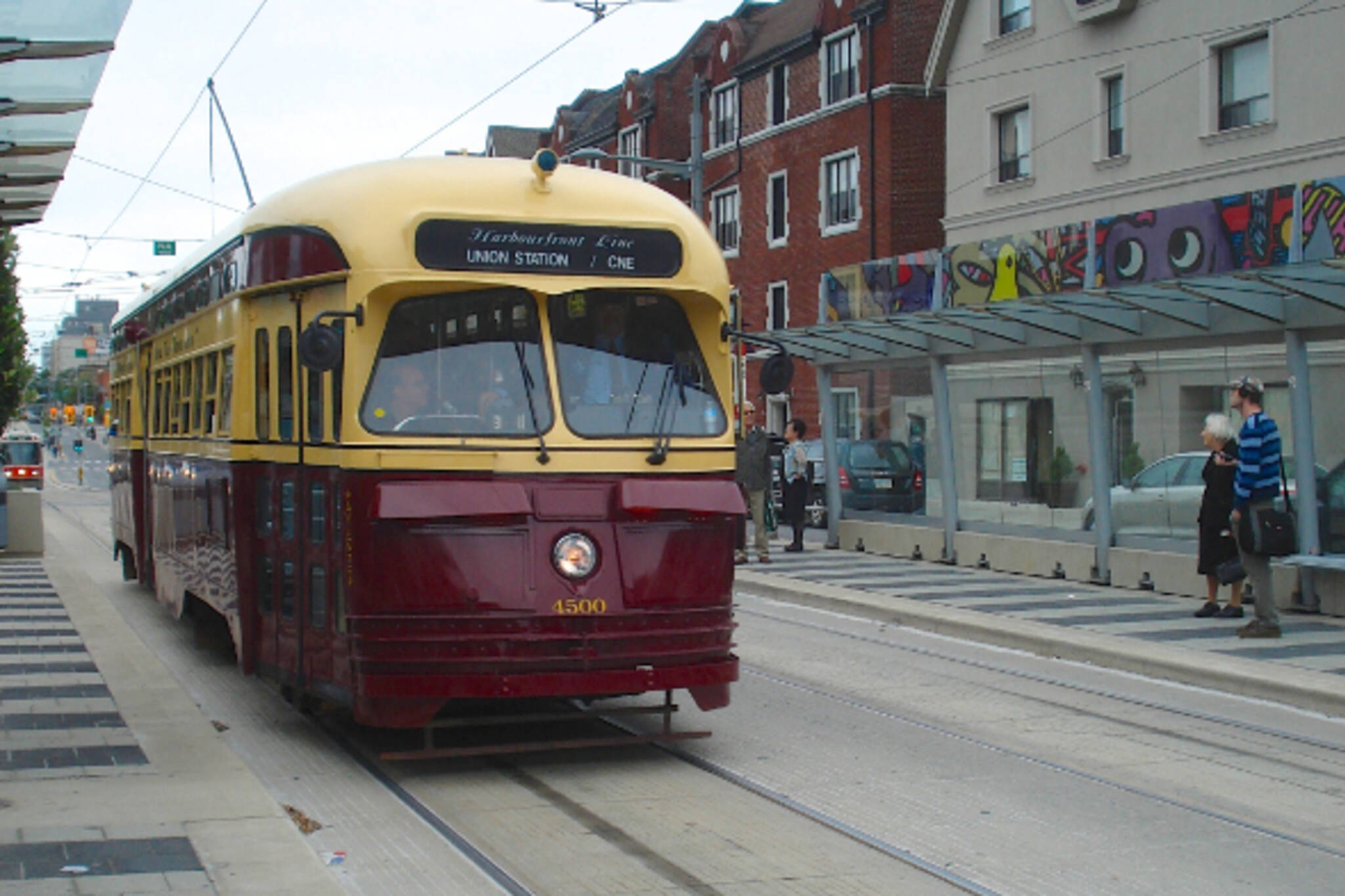 vintage TTC streetcar Toronto
