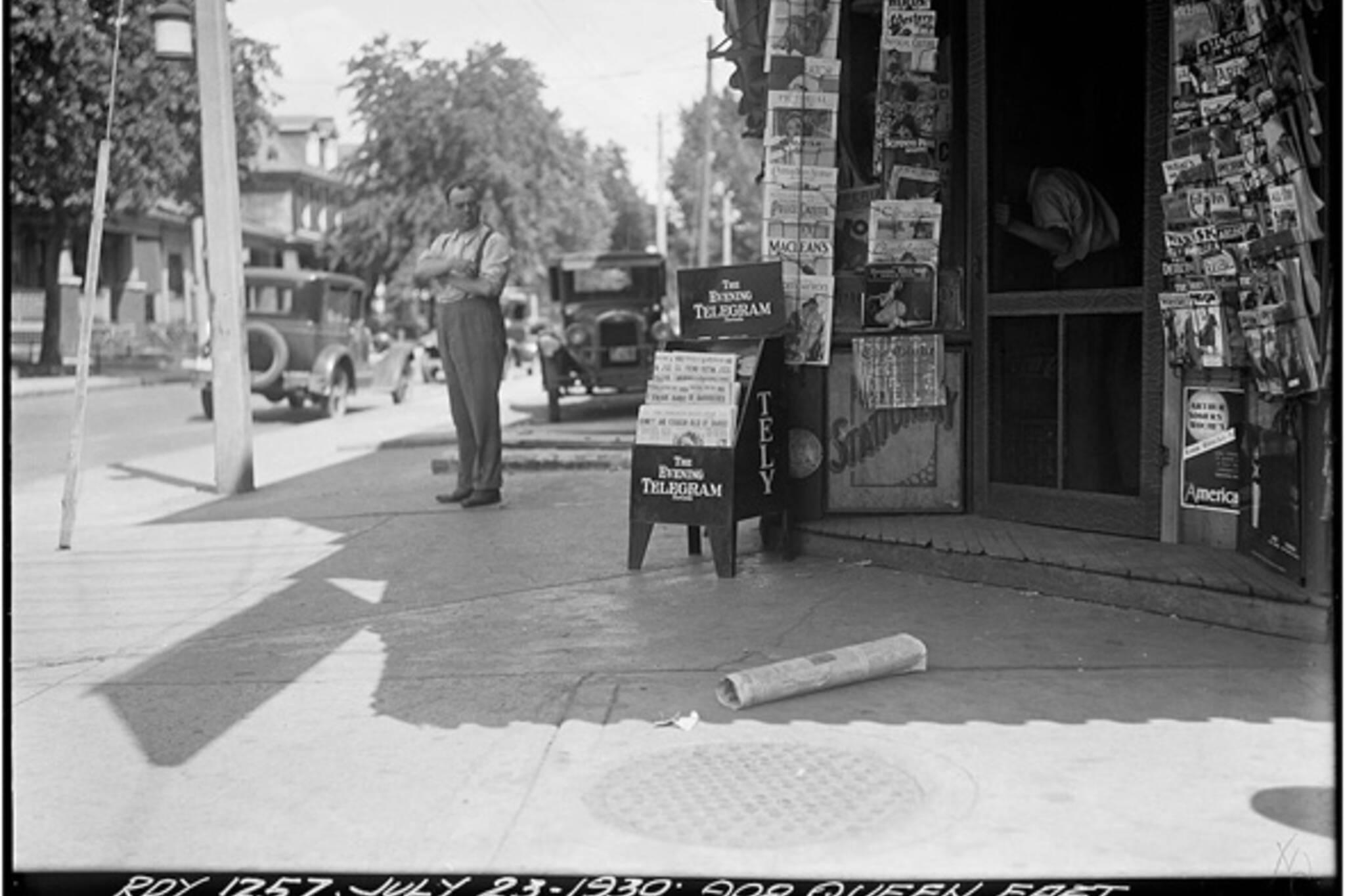 Toronto Newspapers History