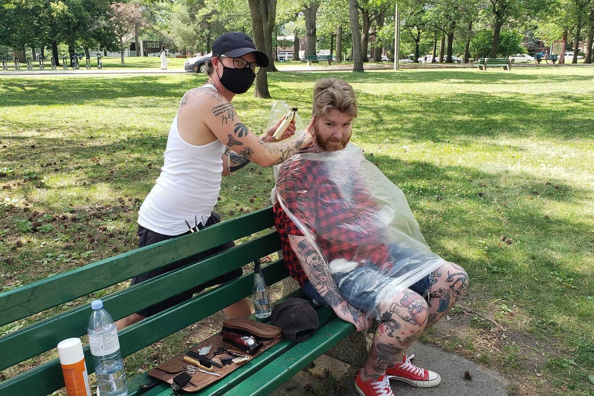 high park barber toronto