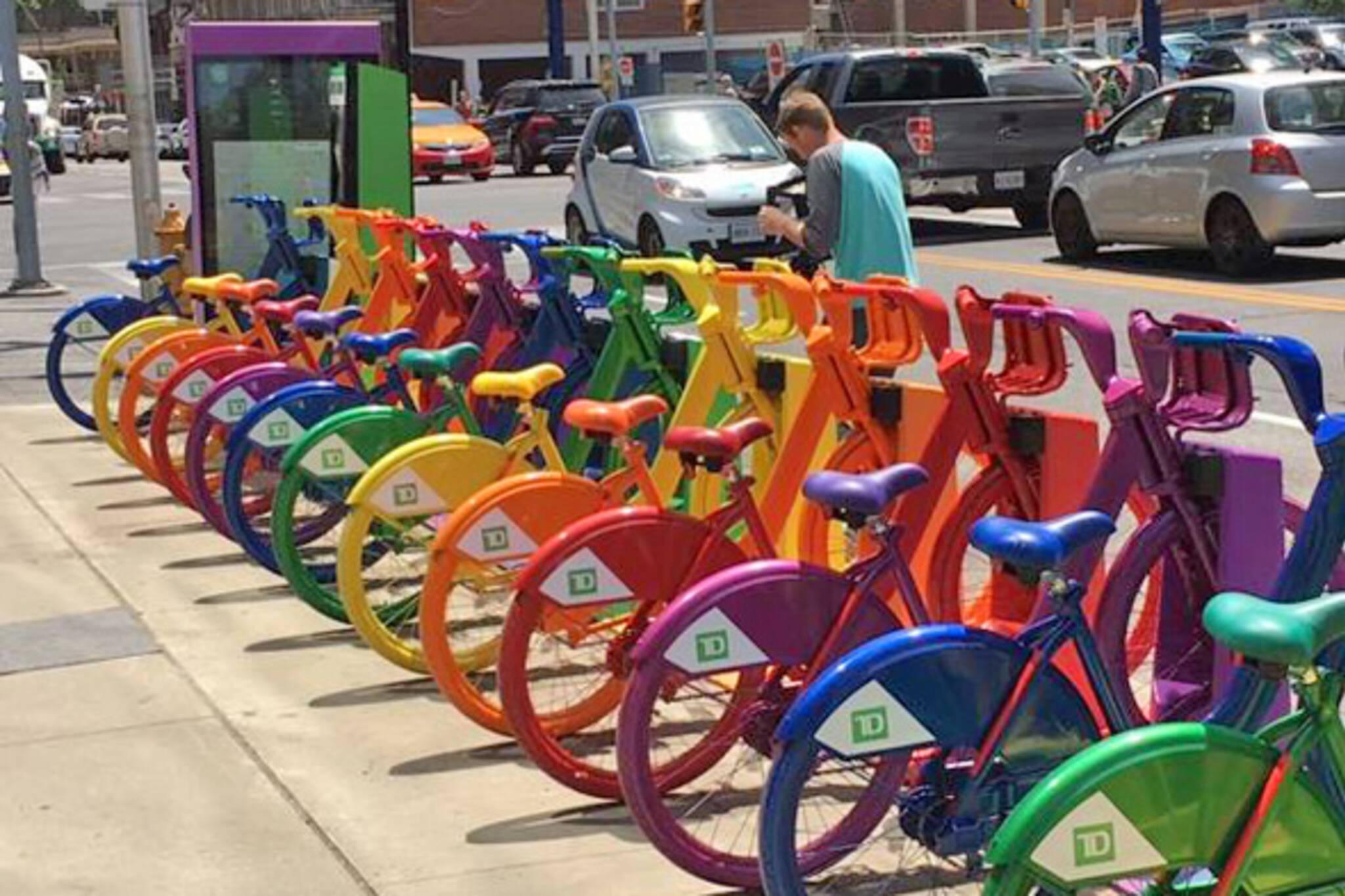 pride bikes