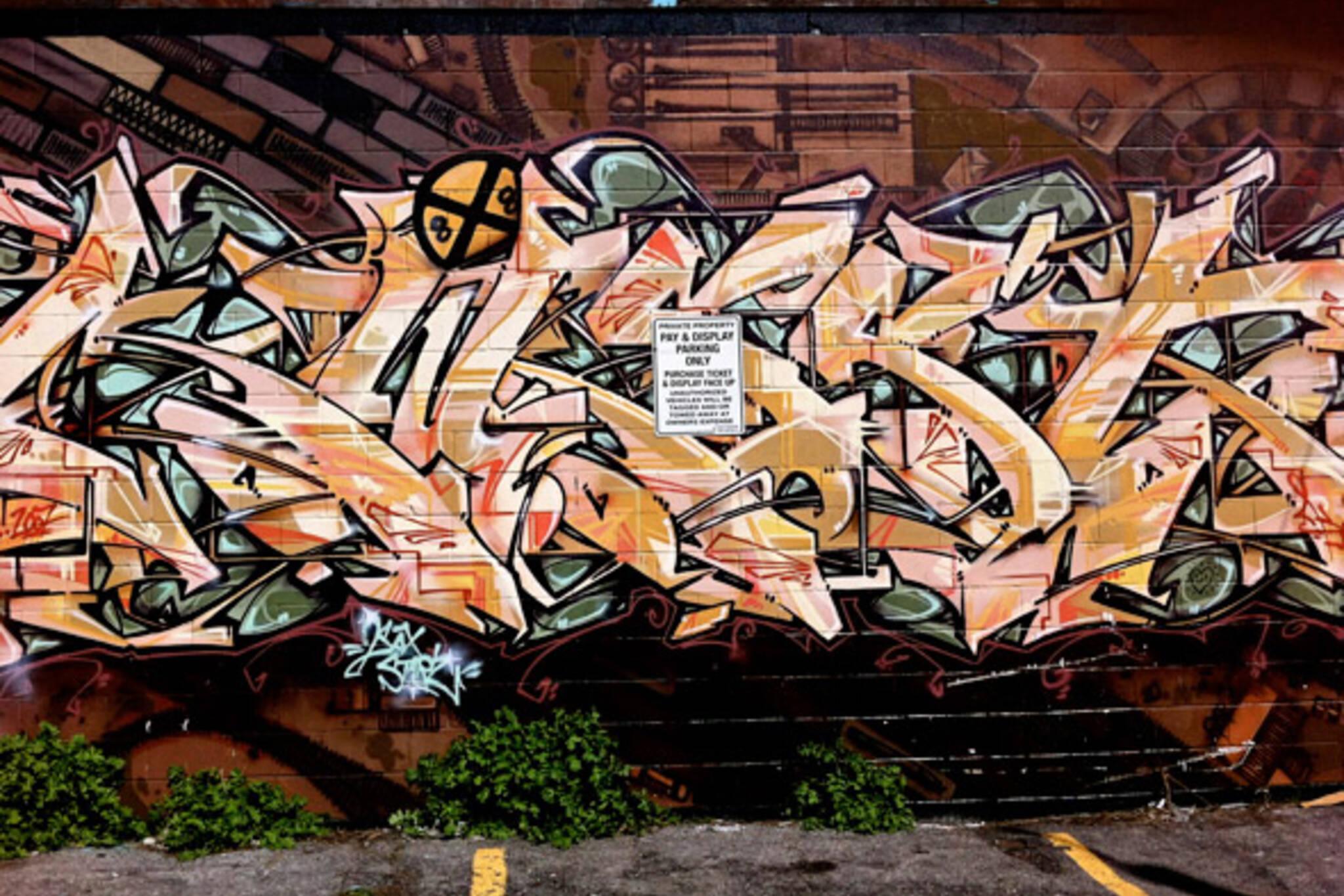 Toronto Graffiti Artists