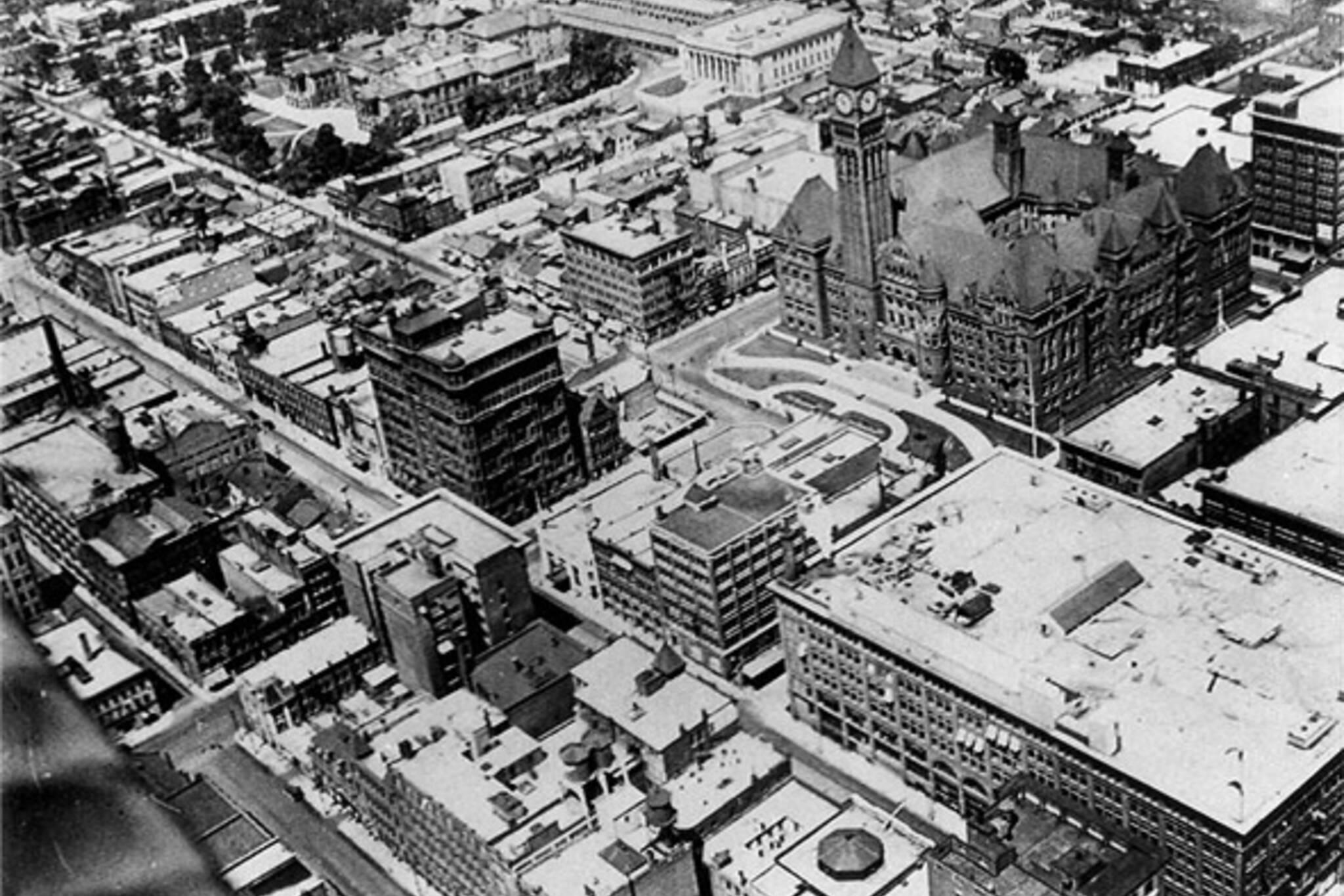 Aerial photograph toronto