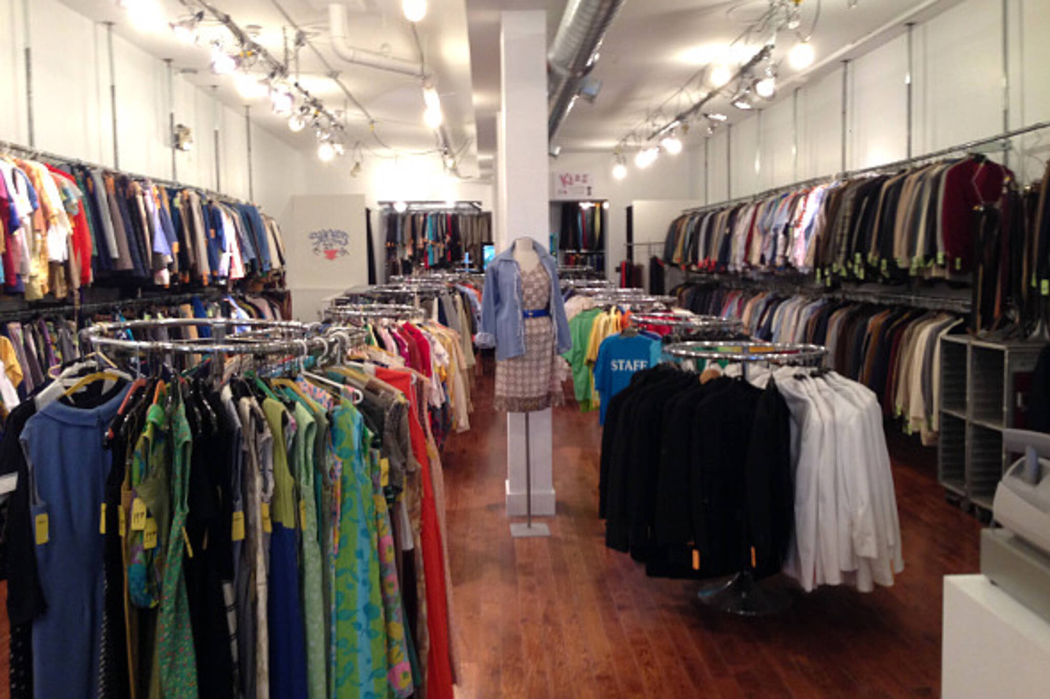 Massive vintage clothing archive for sale in Toronto