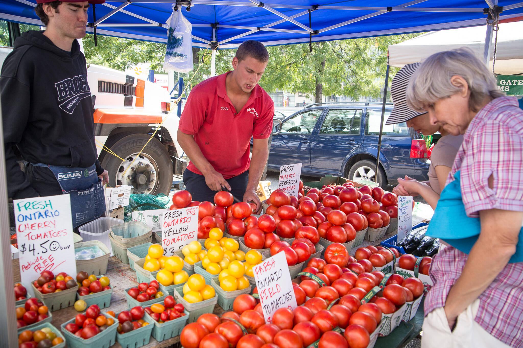 toronto farmers market