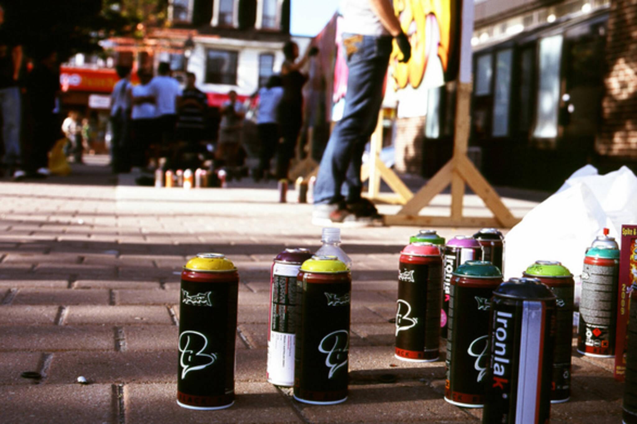 spray paint toronto