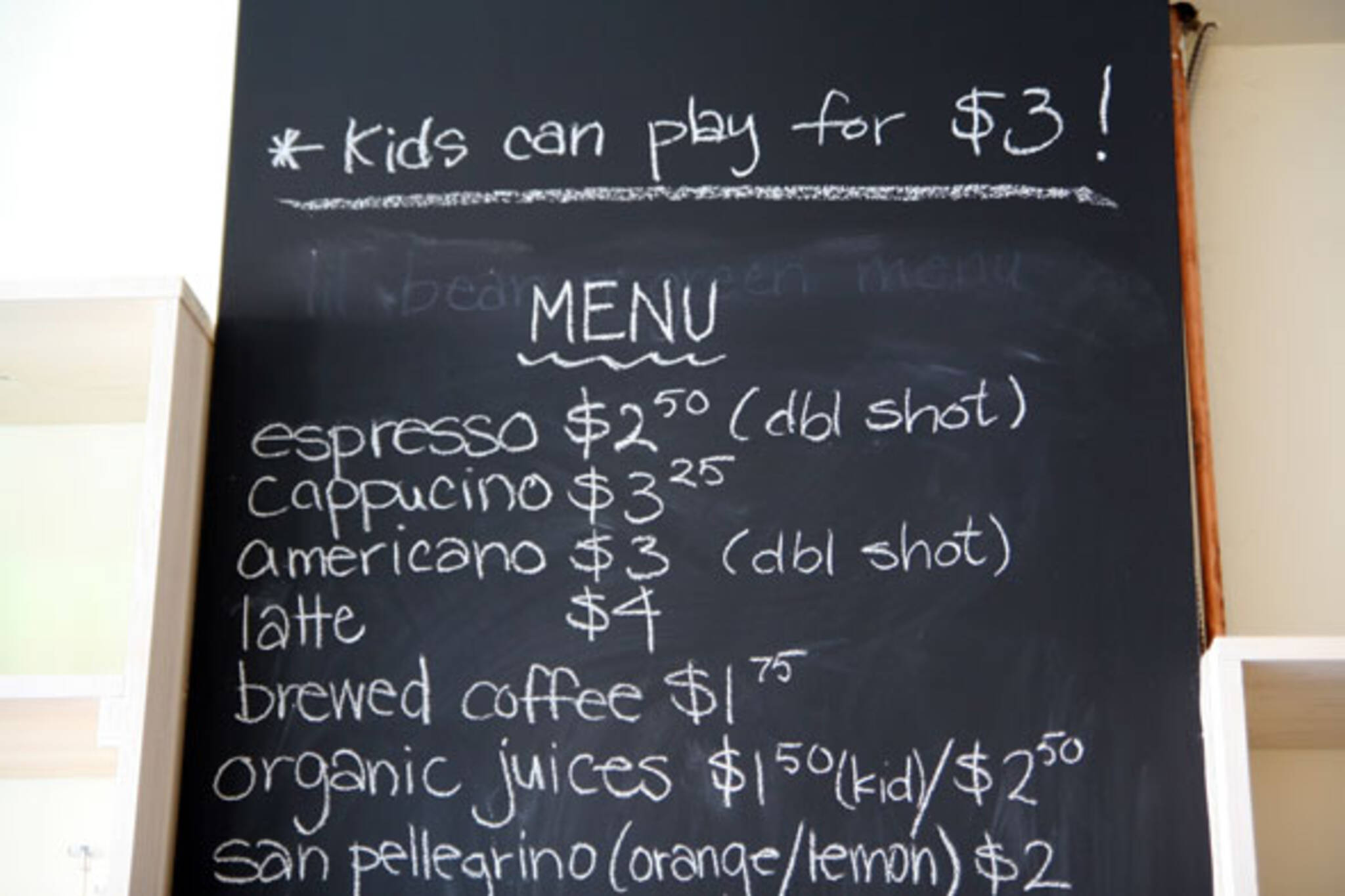 Kid Friendly Cafes
