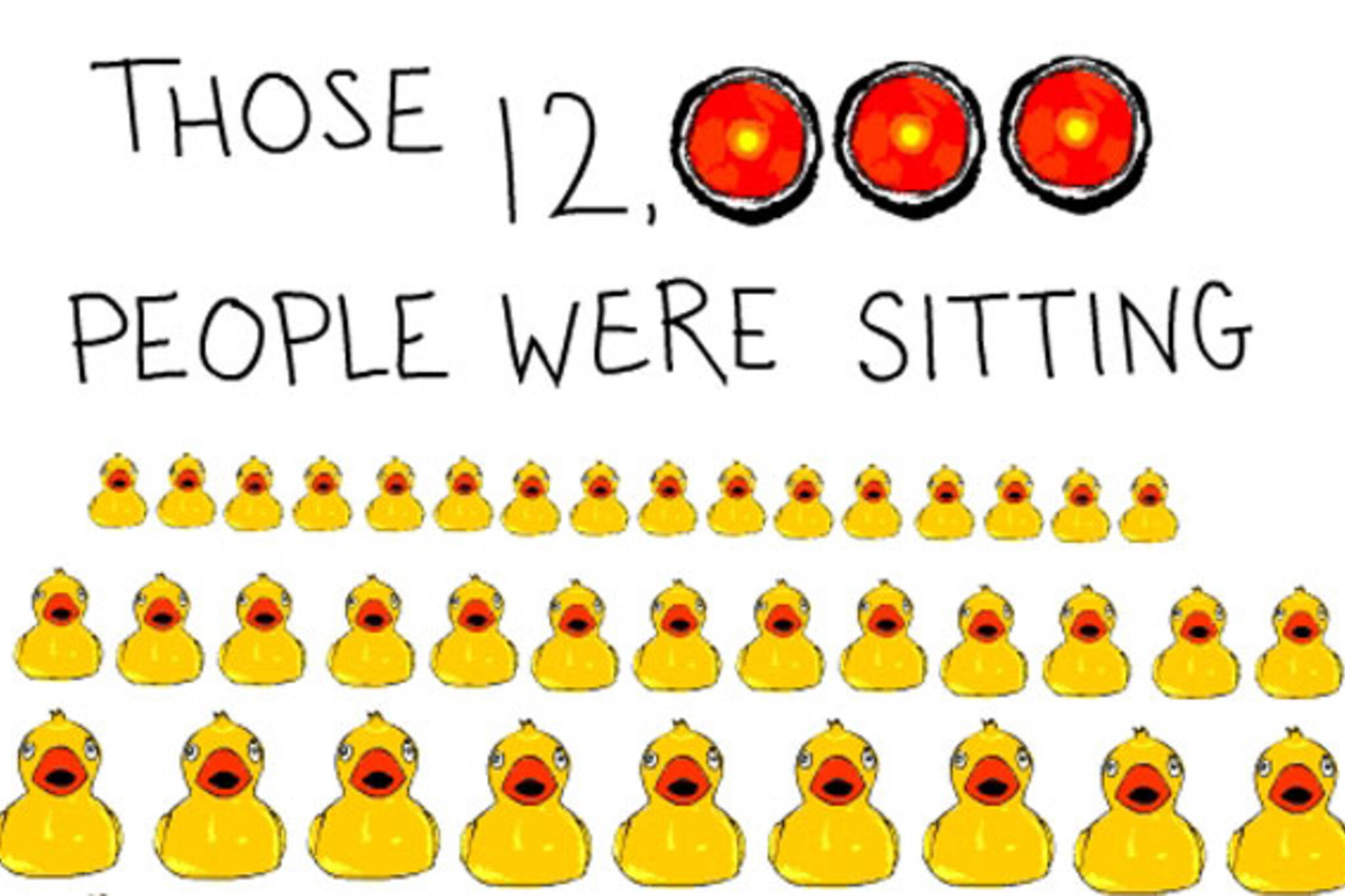 12,000 Sitting Ducks