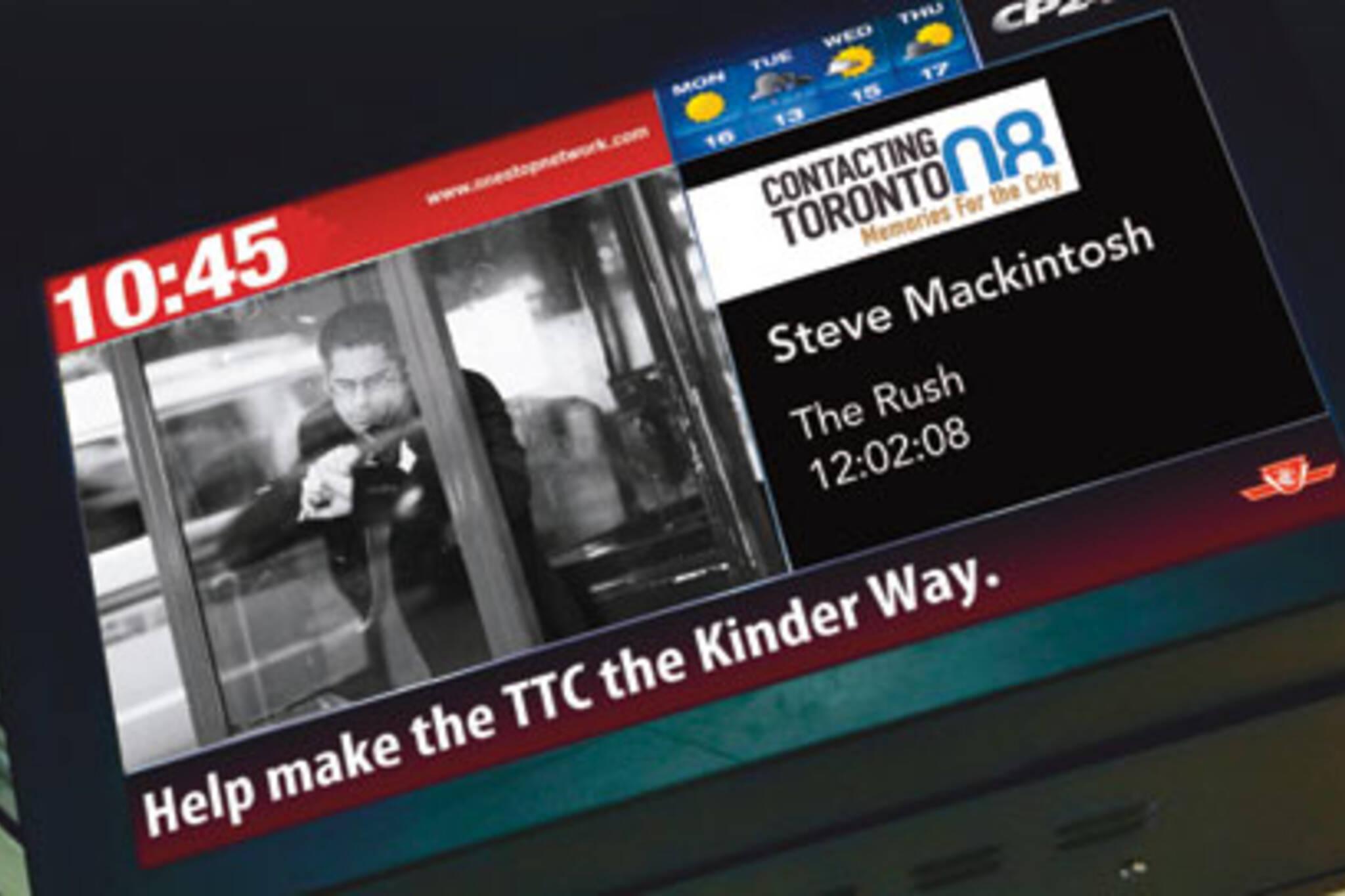 Contacting Toronto