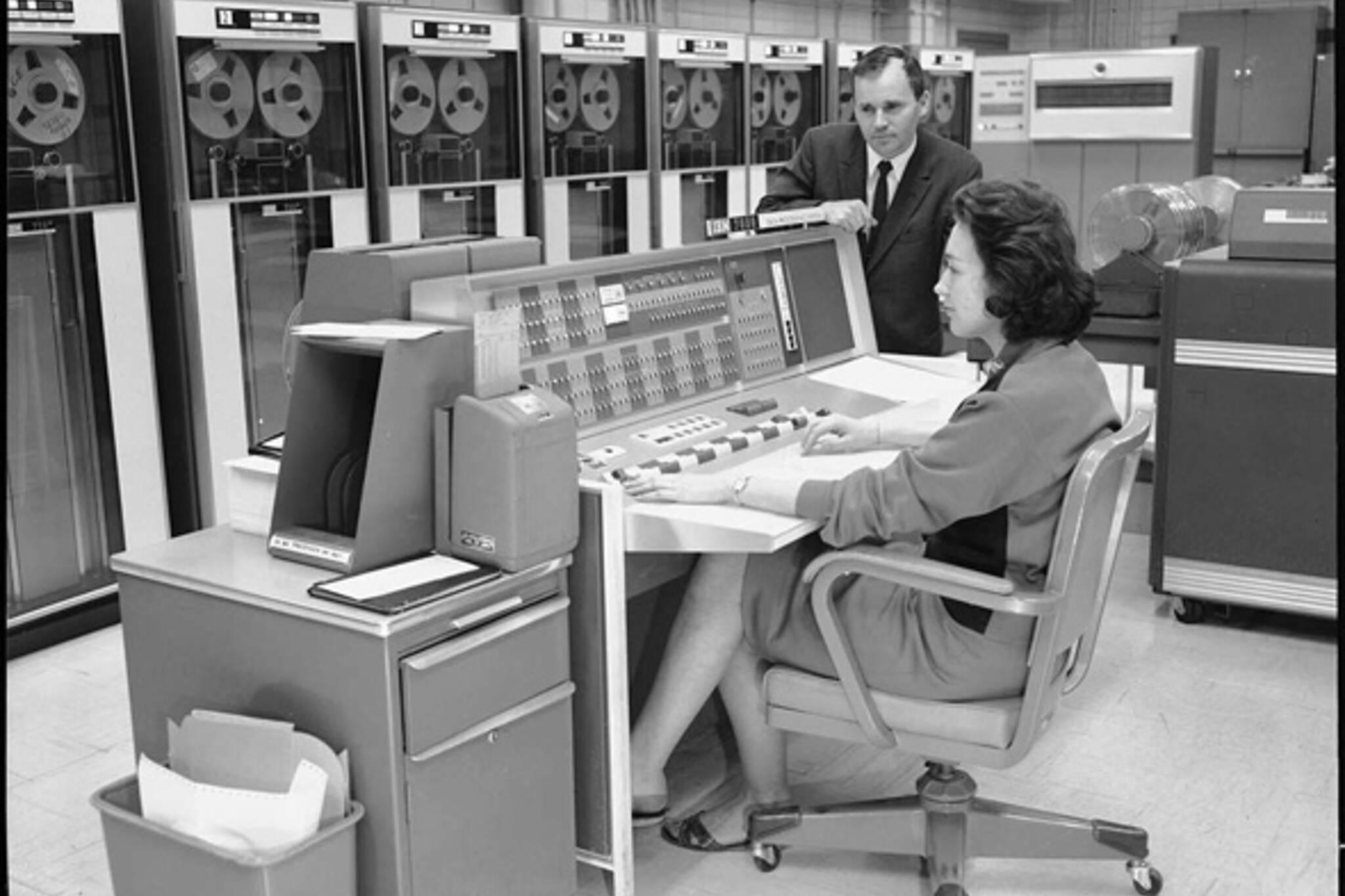 Vintage computers Toronto TTC CBC
