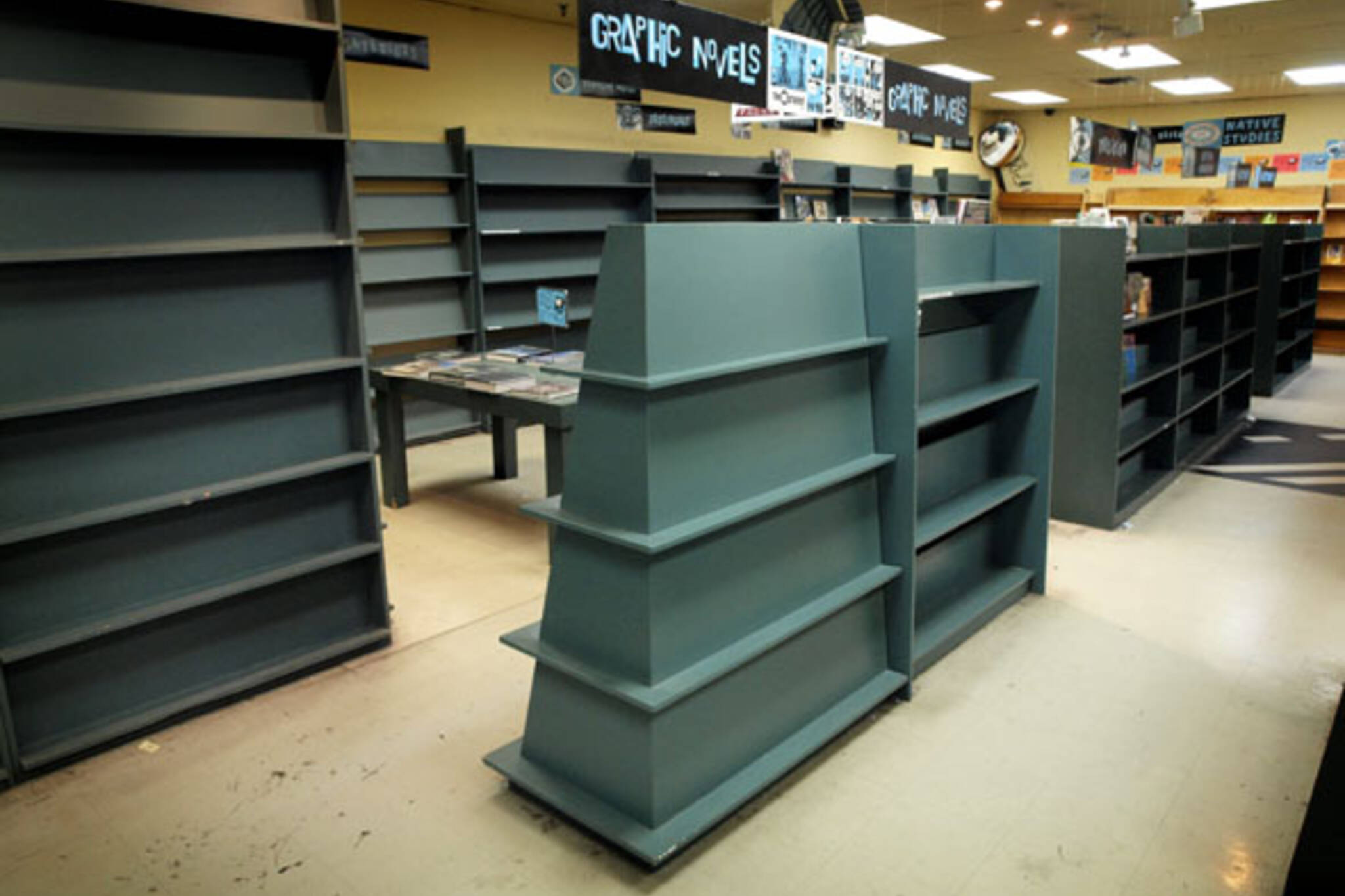 Pages toronto book store closes