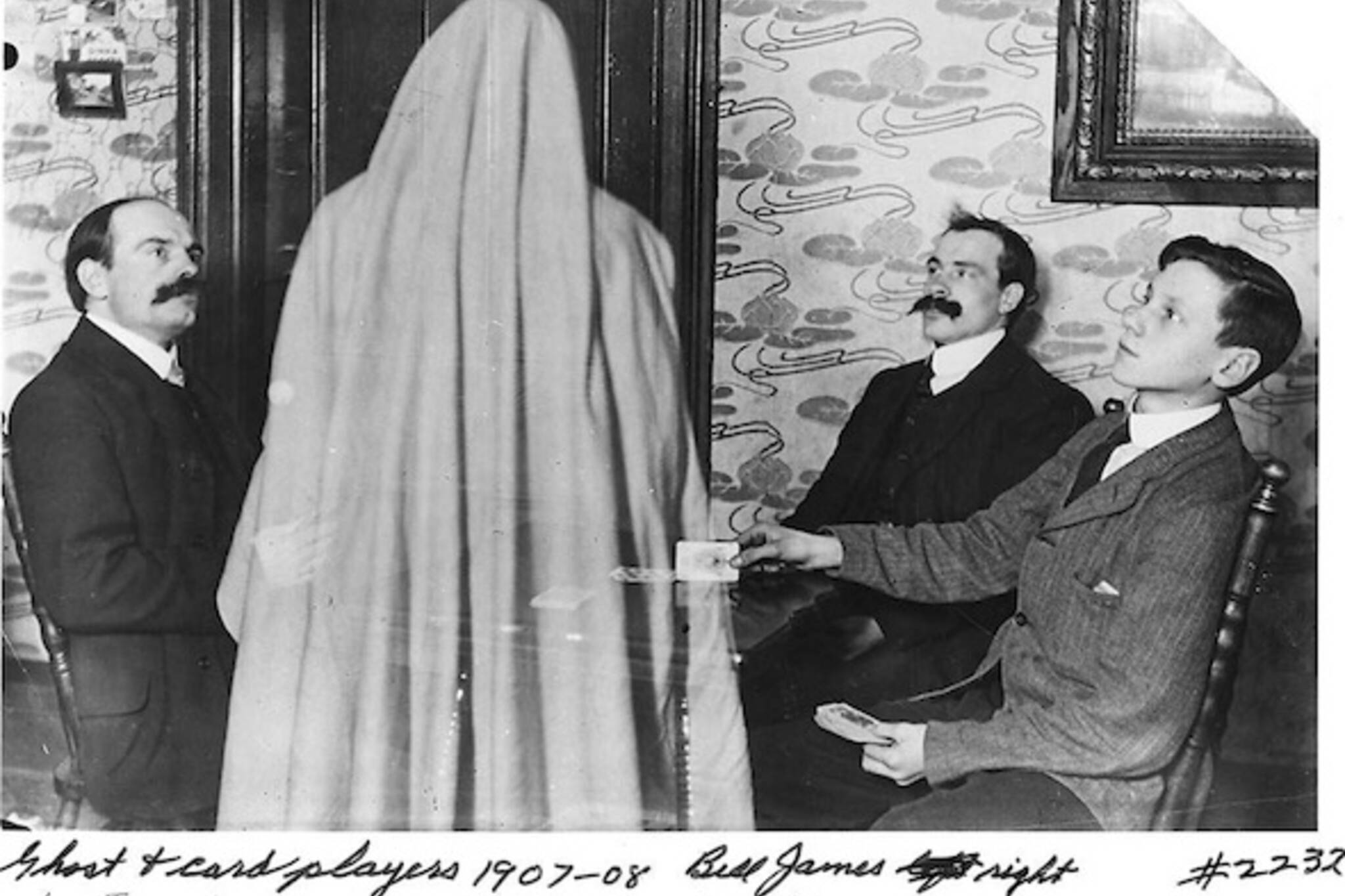 Toronto Ghost Caption William James
