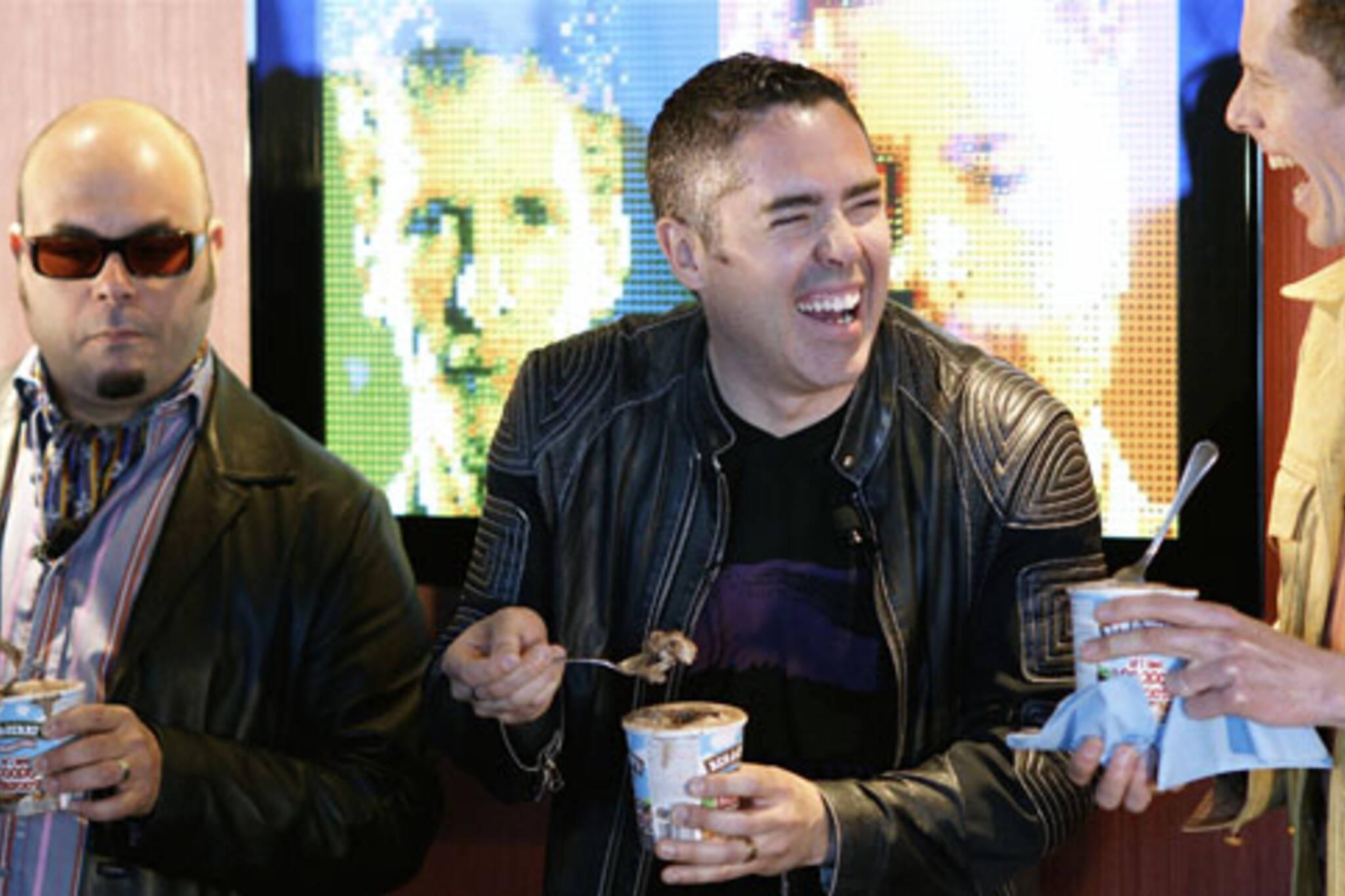 Barenaked Ladies unveil new Ben & Jerry's ice cream flavour