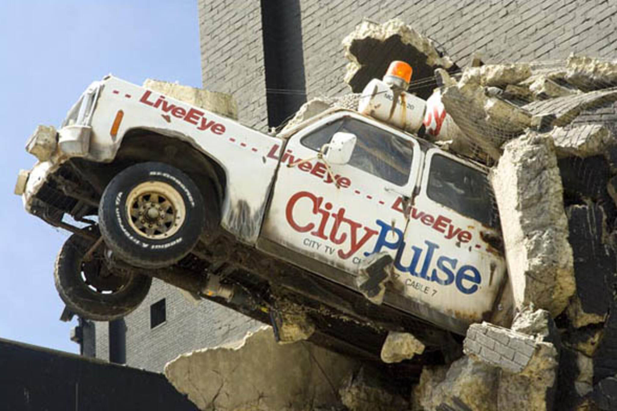 City Pulse Truck at the CHUM Headquarters