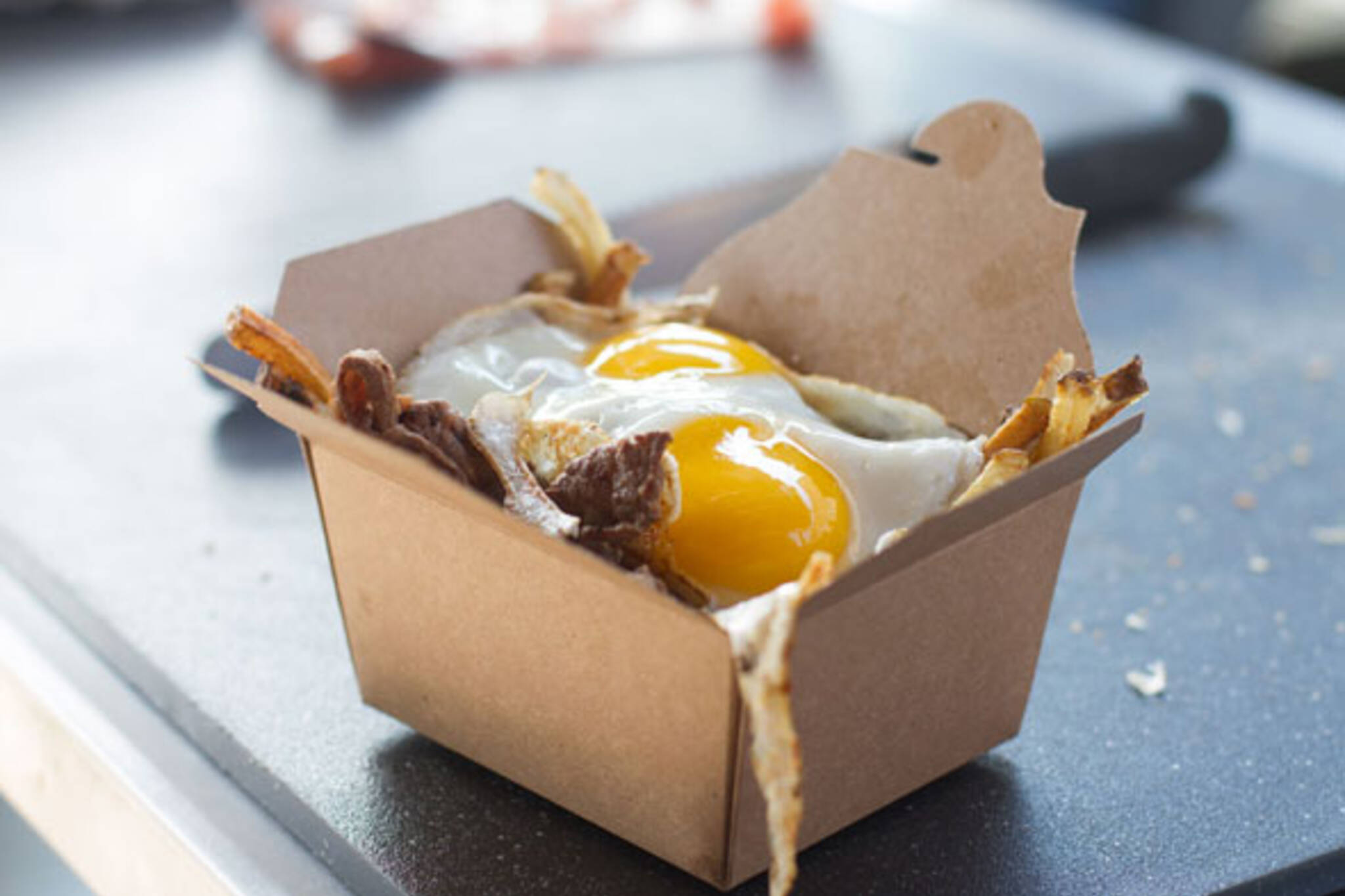 Steak and egg fries