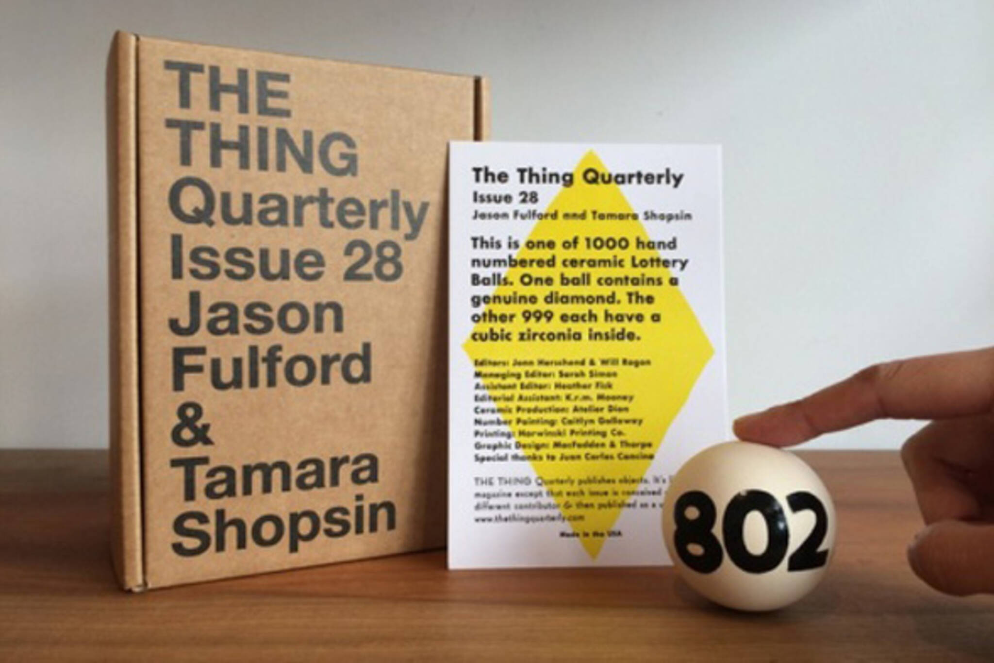 the thing quarterly issue