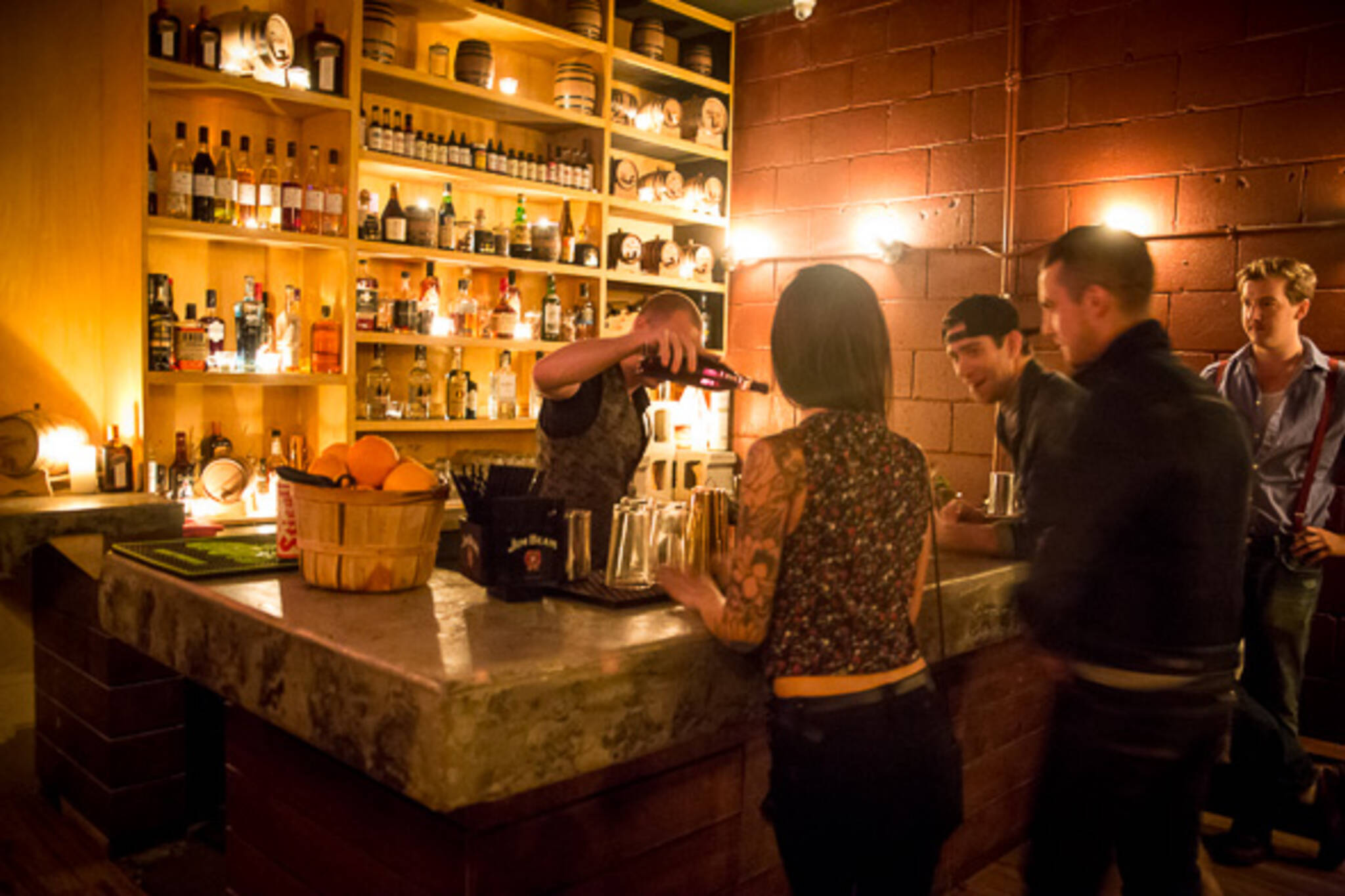 cocktail lounge Little Italy Toronto