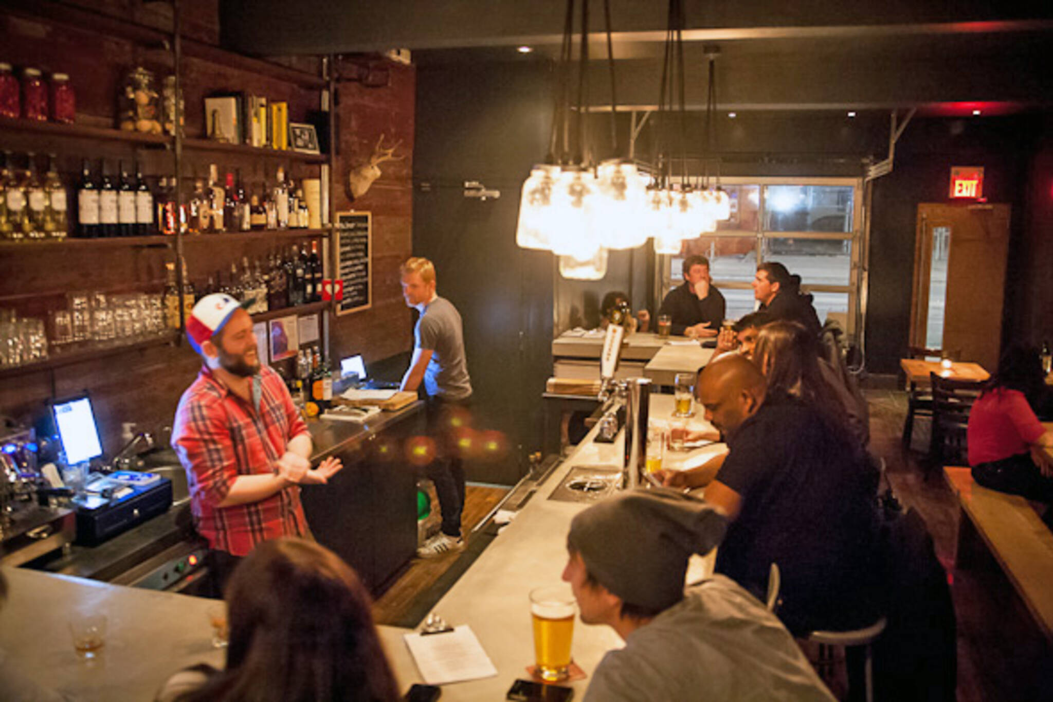 The top 10 bars and pubs on queen st east for L furniture warehouse queen