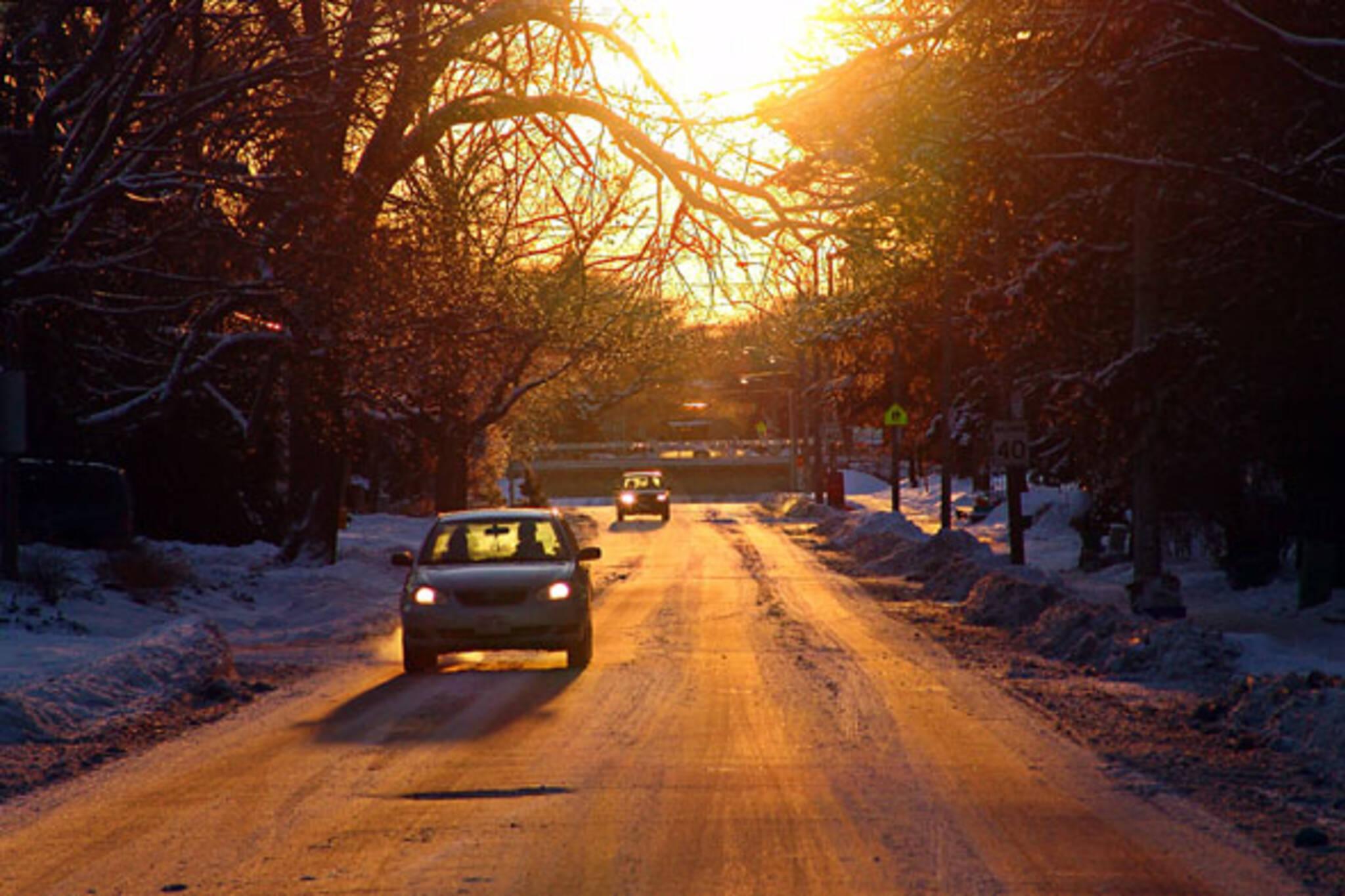 blogTO Morning Brew Drive Car Cold Toronto