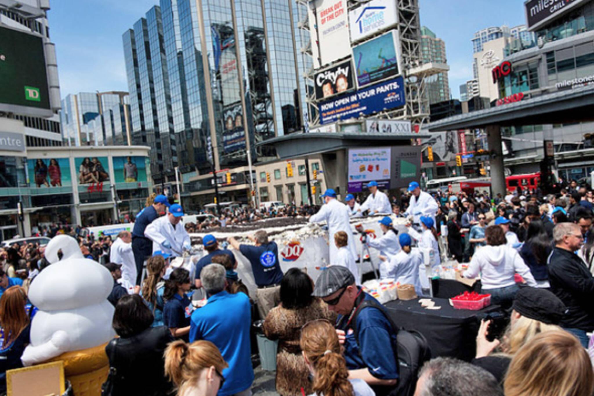Toronto Events Yonge Dundas