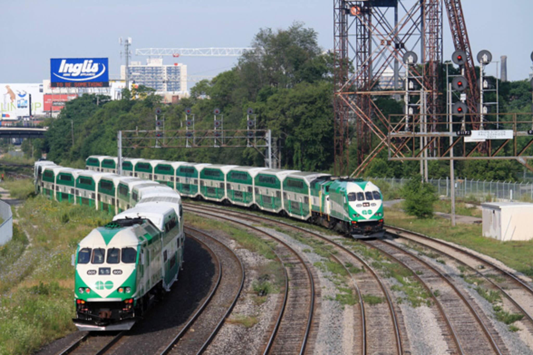 GO Train Toronto