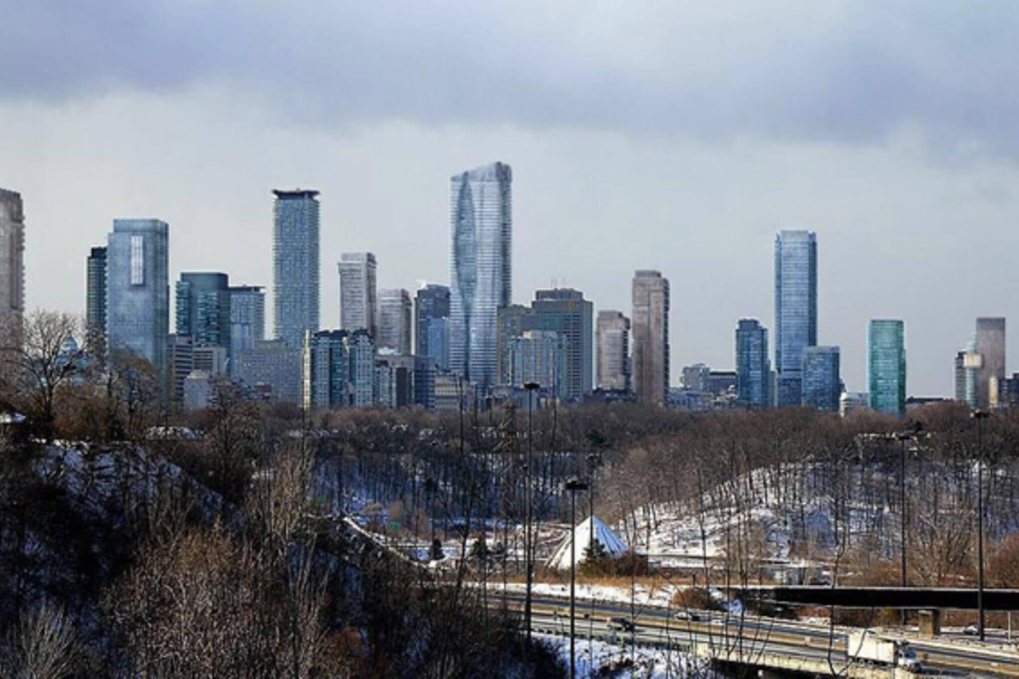 Bloor Toronto Skyline