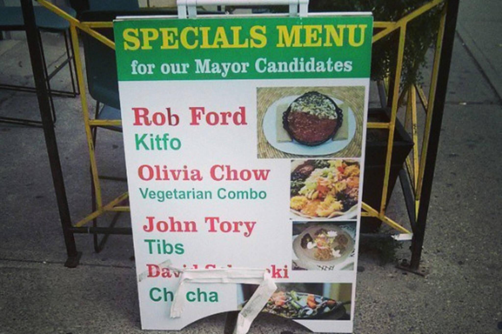 election toronto