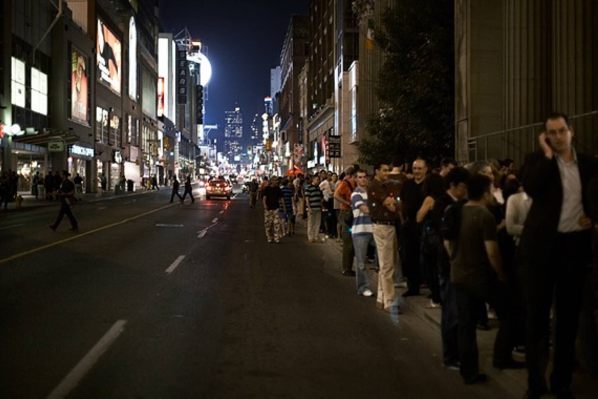 The queue for Persepolis at TIFF