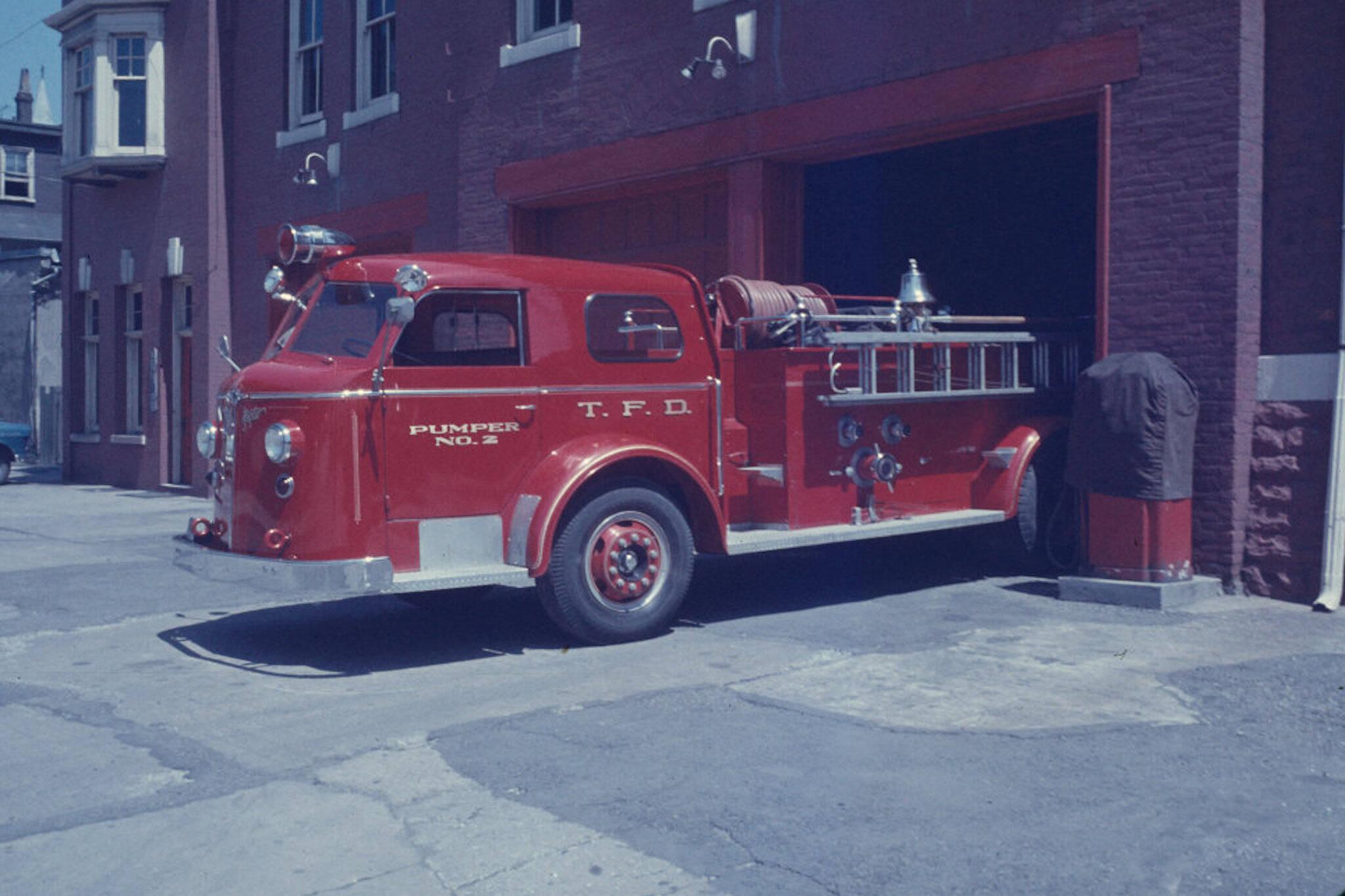 toronto fire department history