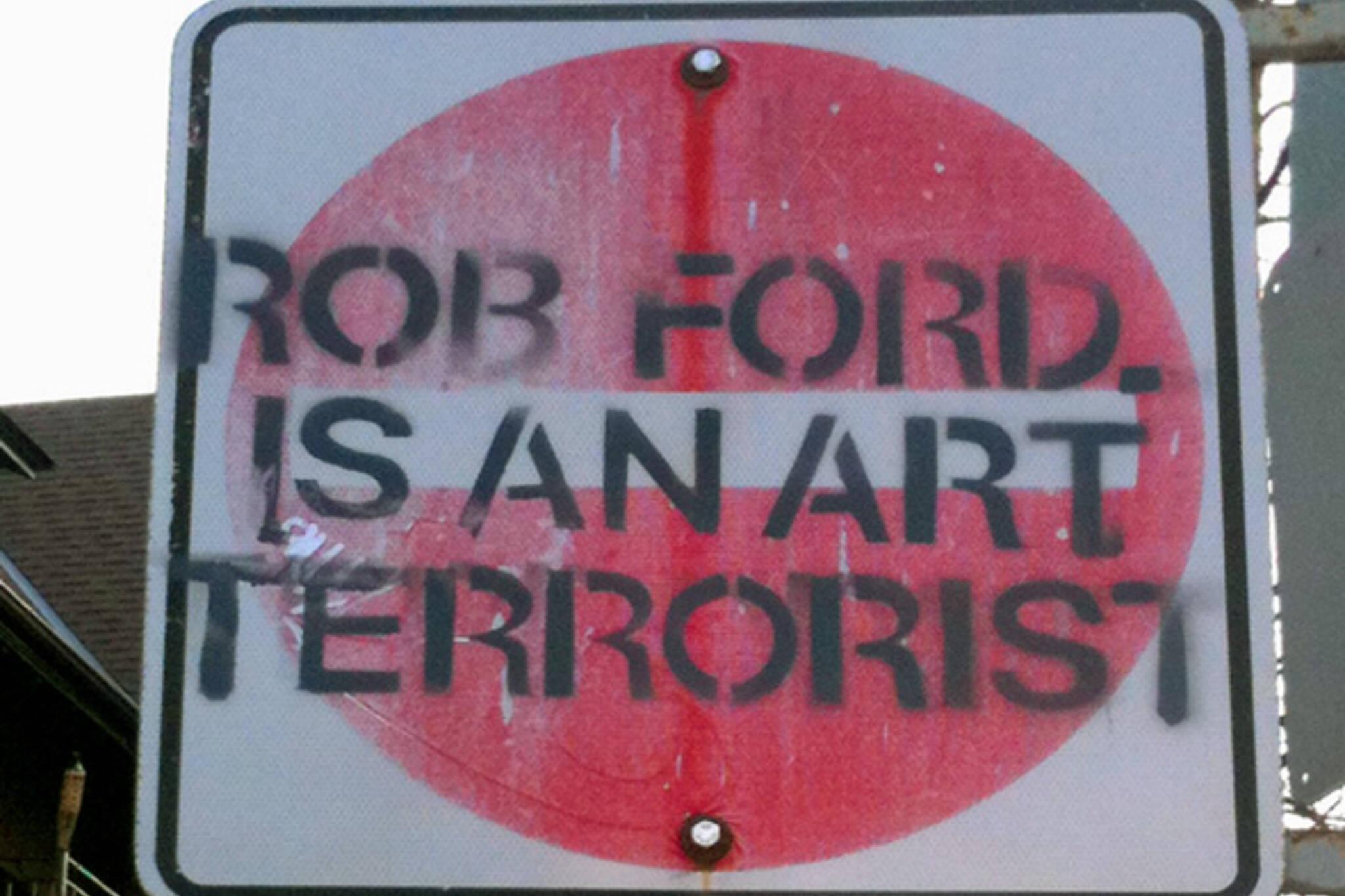 Rob Ford Street Art