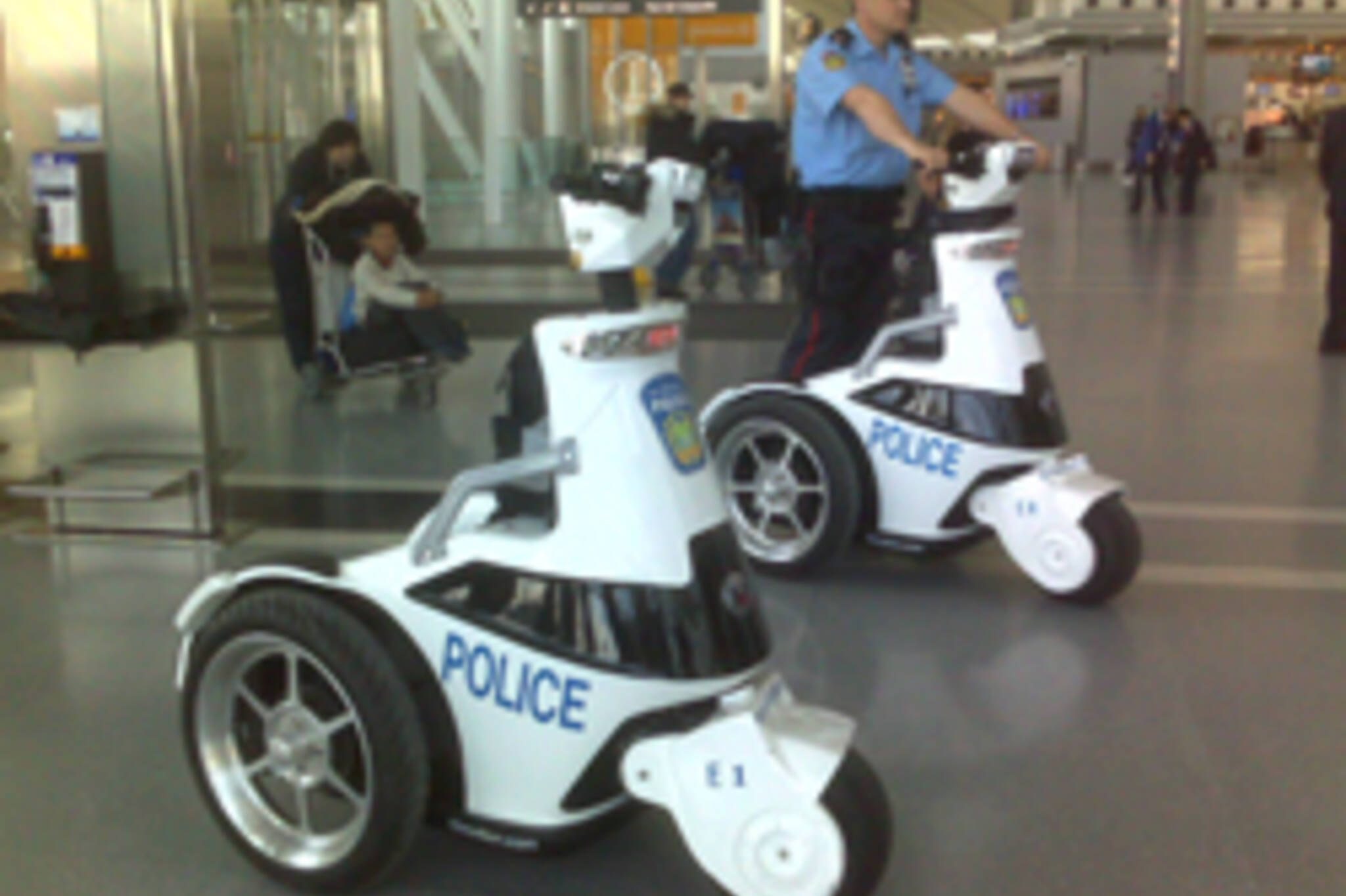 Police T3s at Pearson