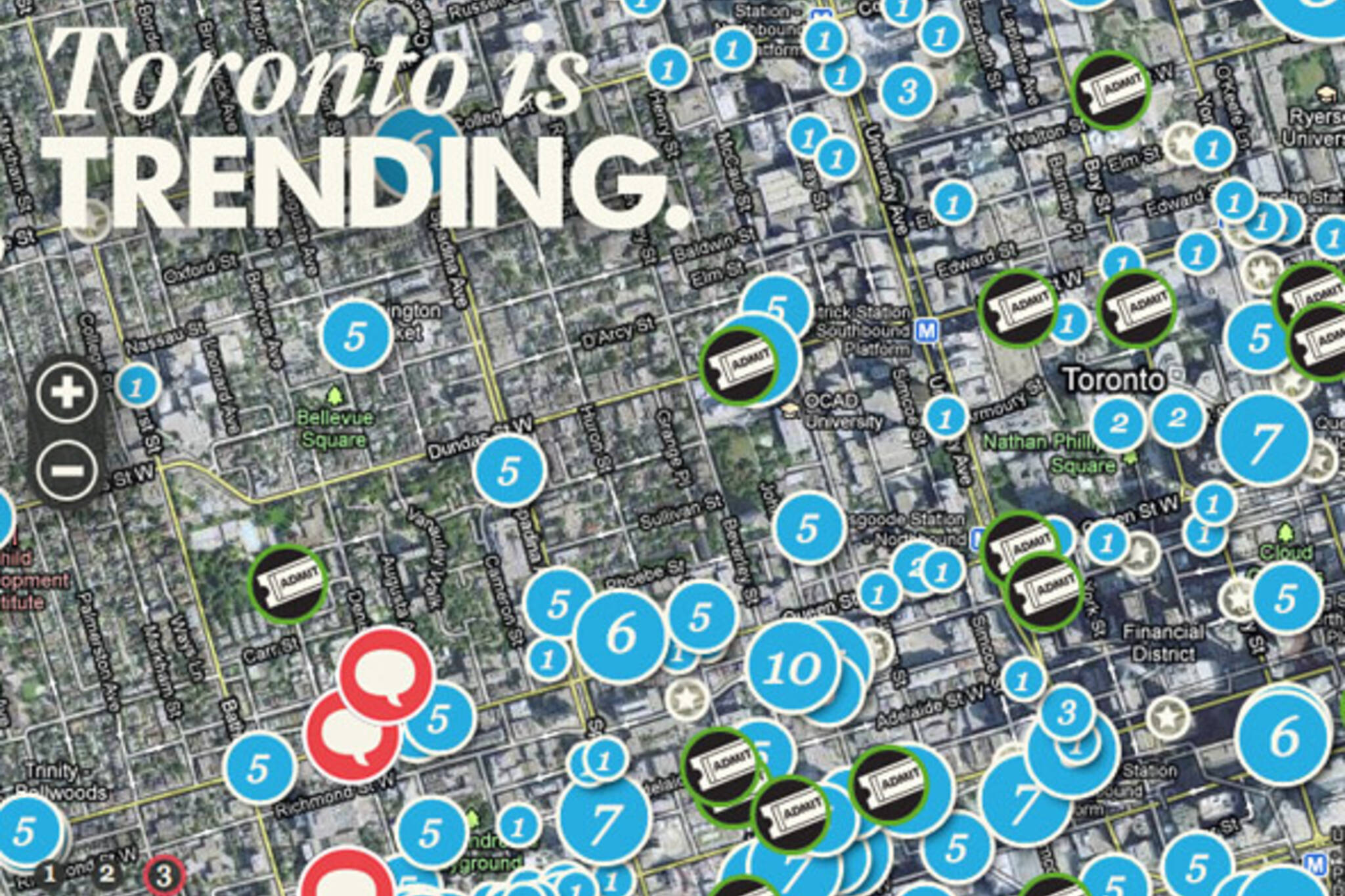 Toronto Trending Tourism
