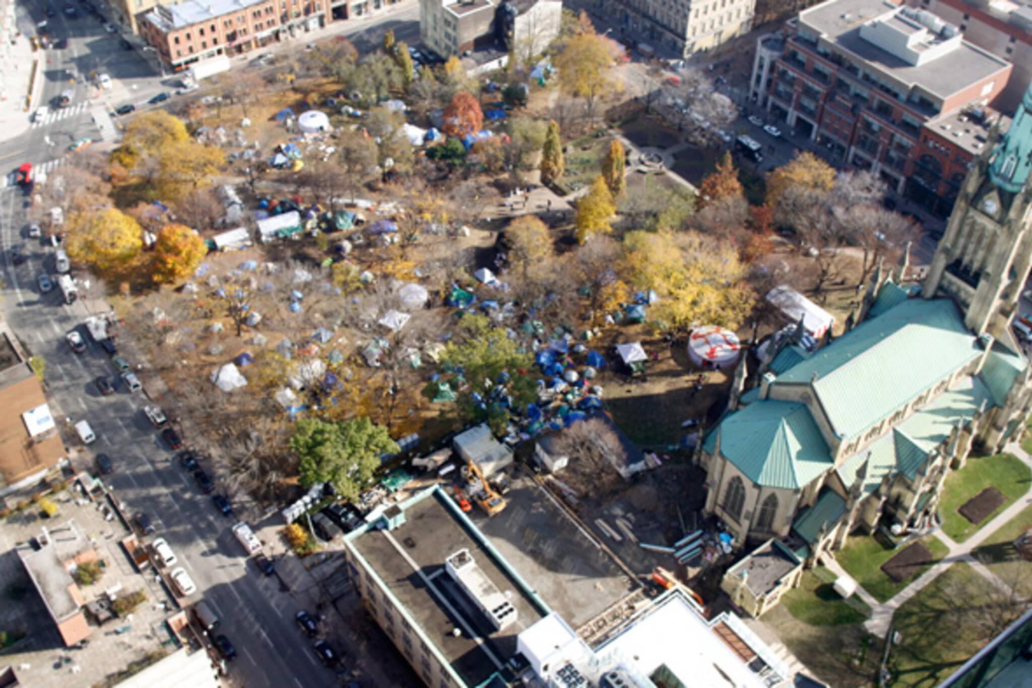 Occupy Toronto Evicted