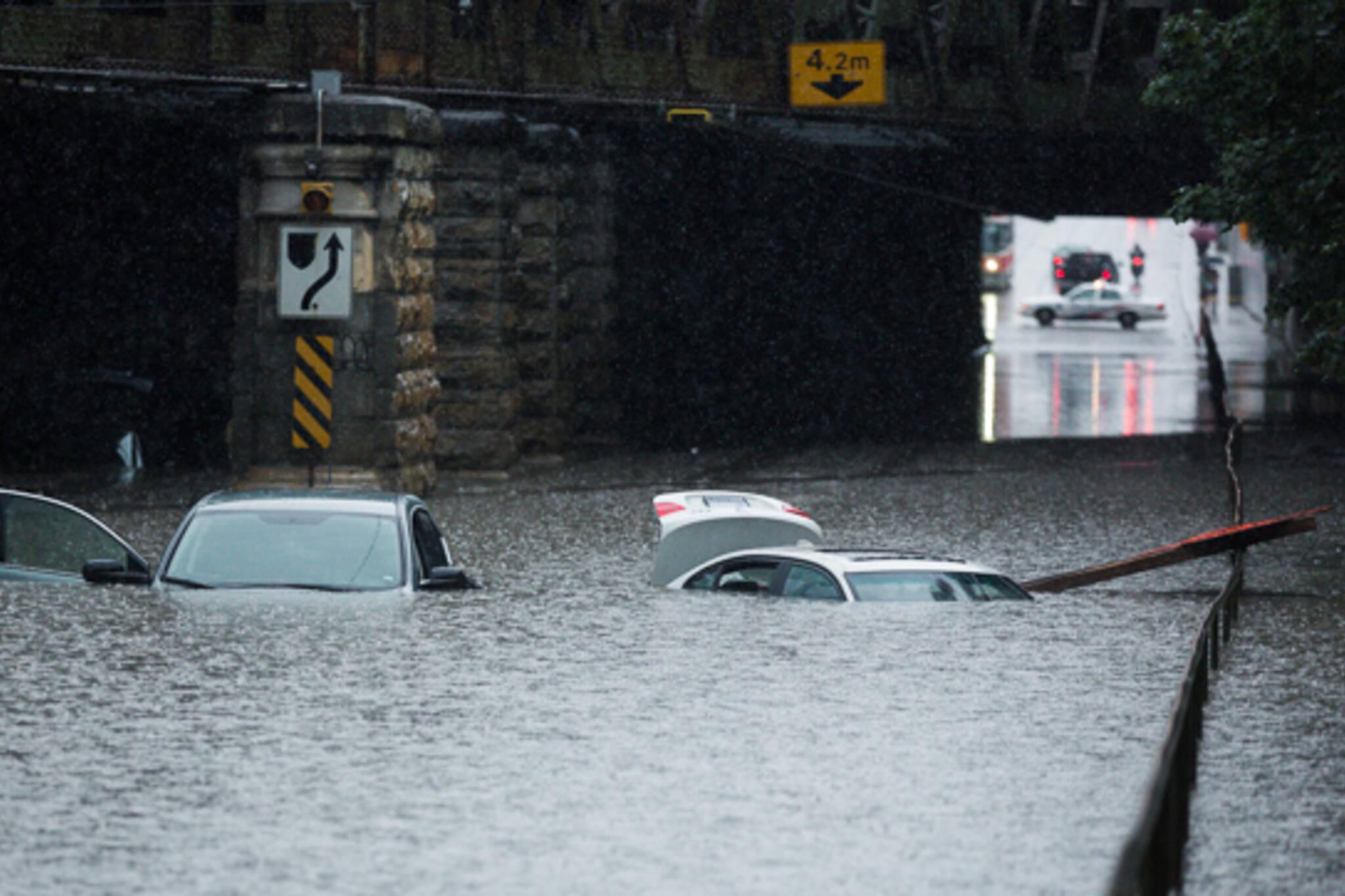 Toronto flood 2013