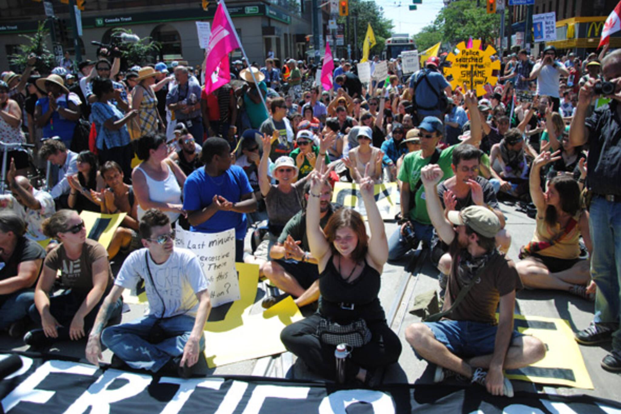 CAPP protest