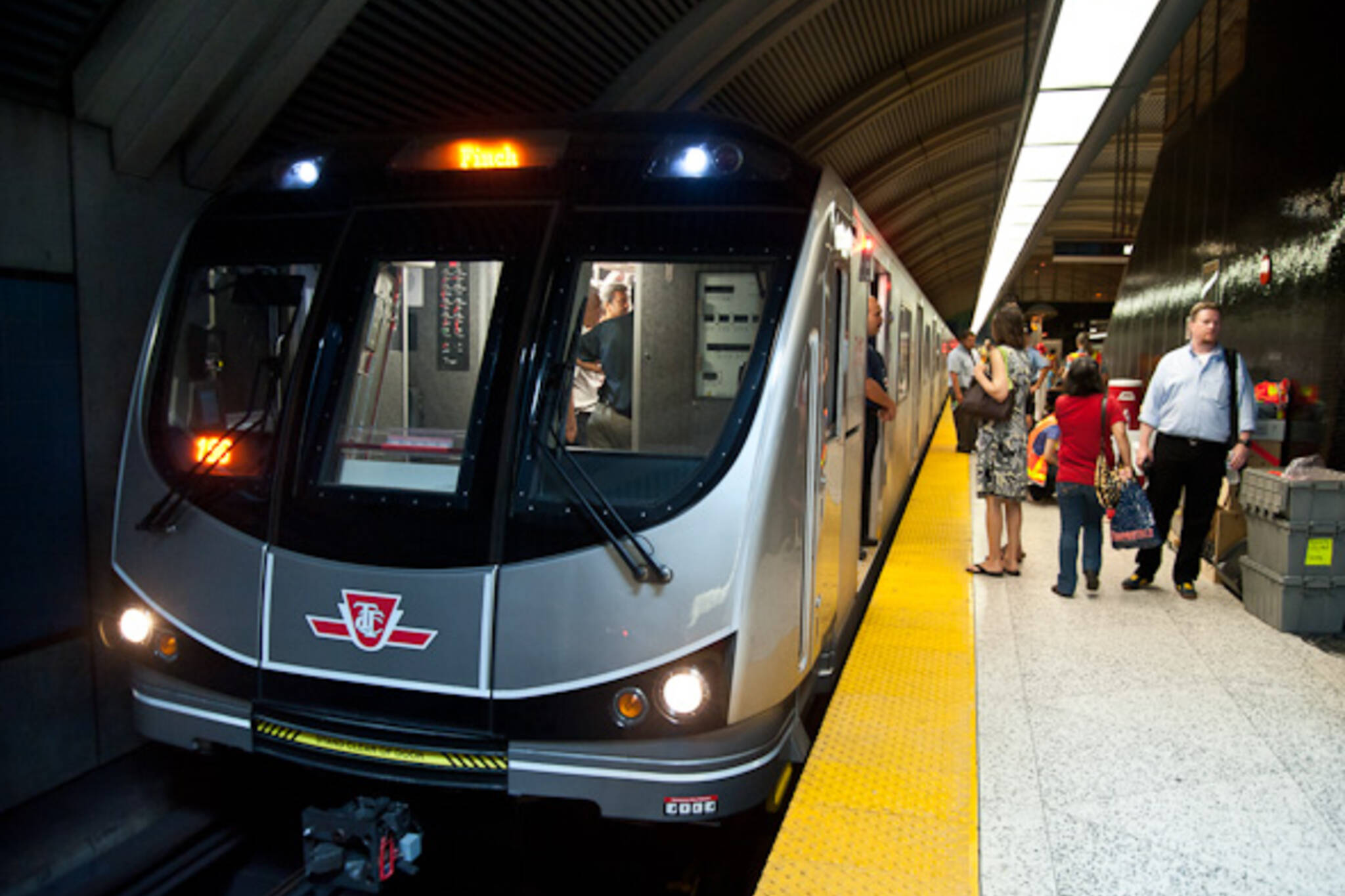TTC Toronto Rocket Subway Launch