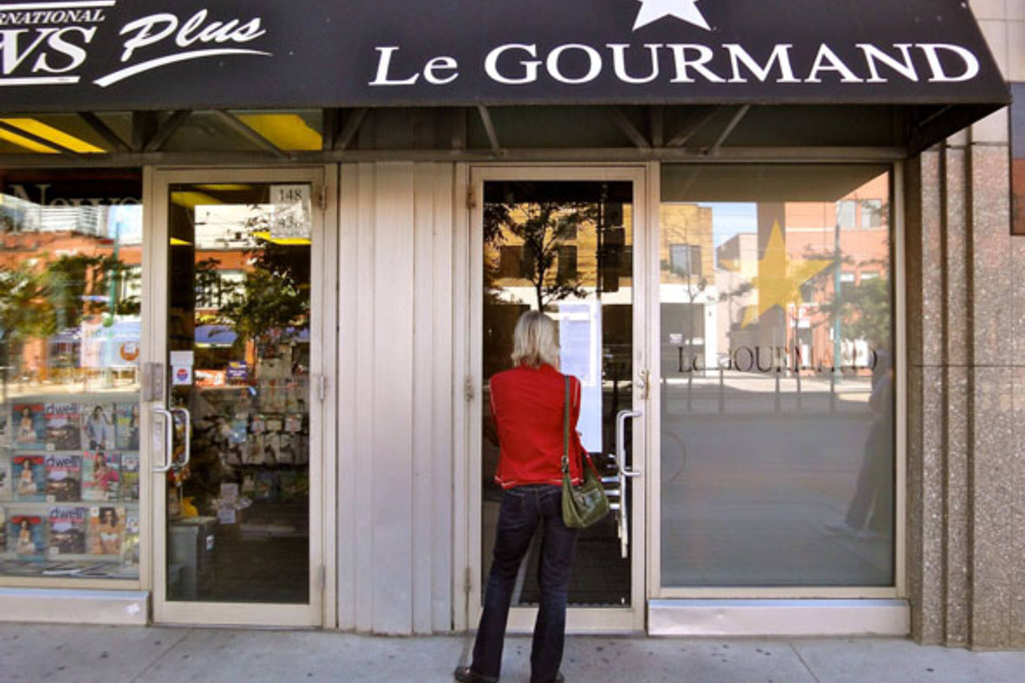 Le Gourmand Closed