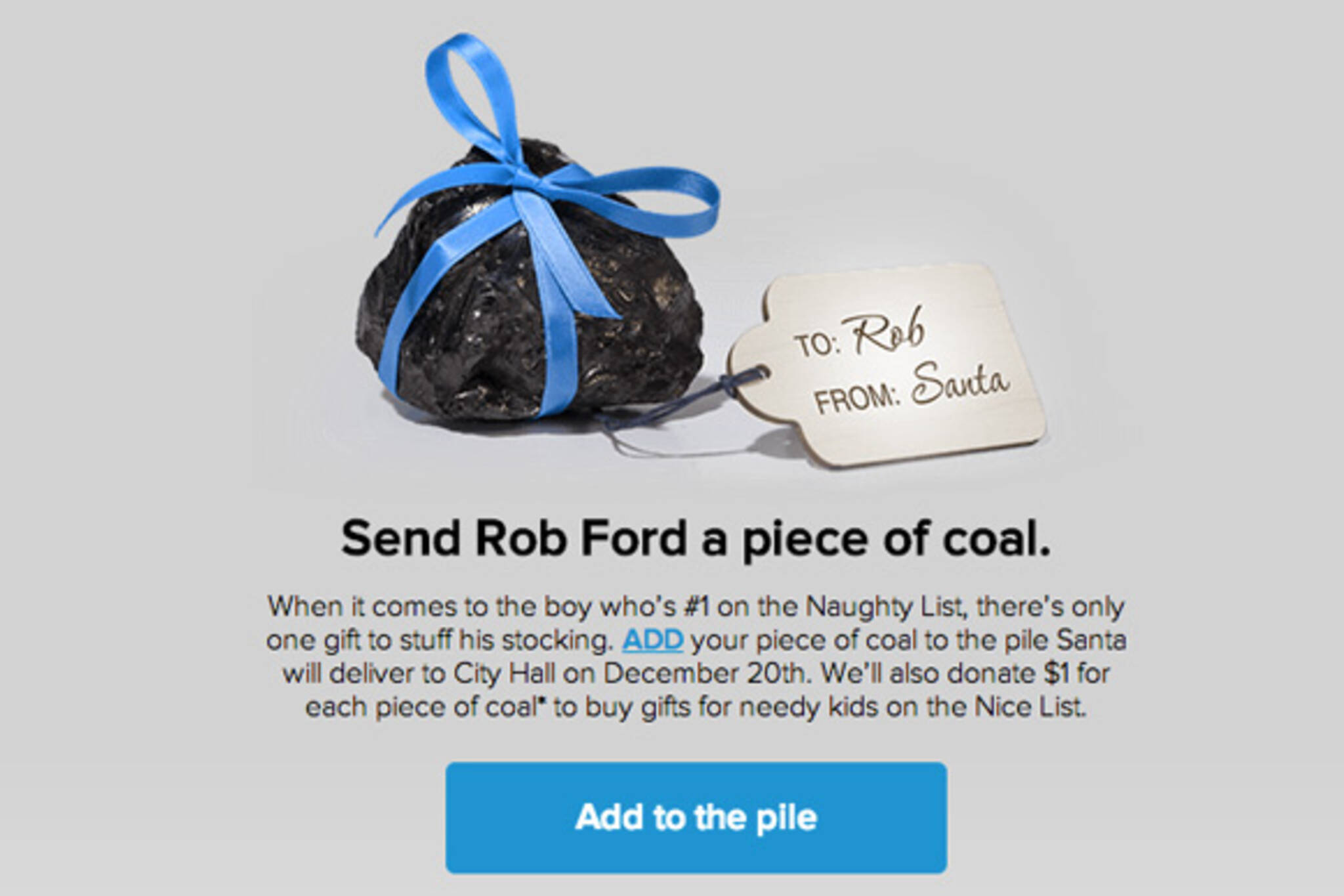 Rob Ford coal