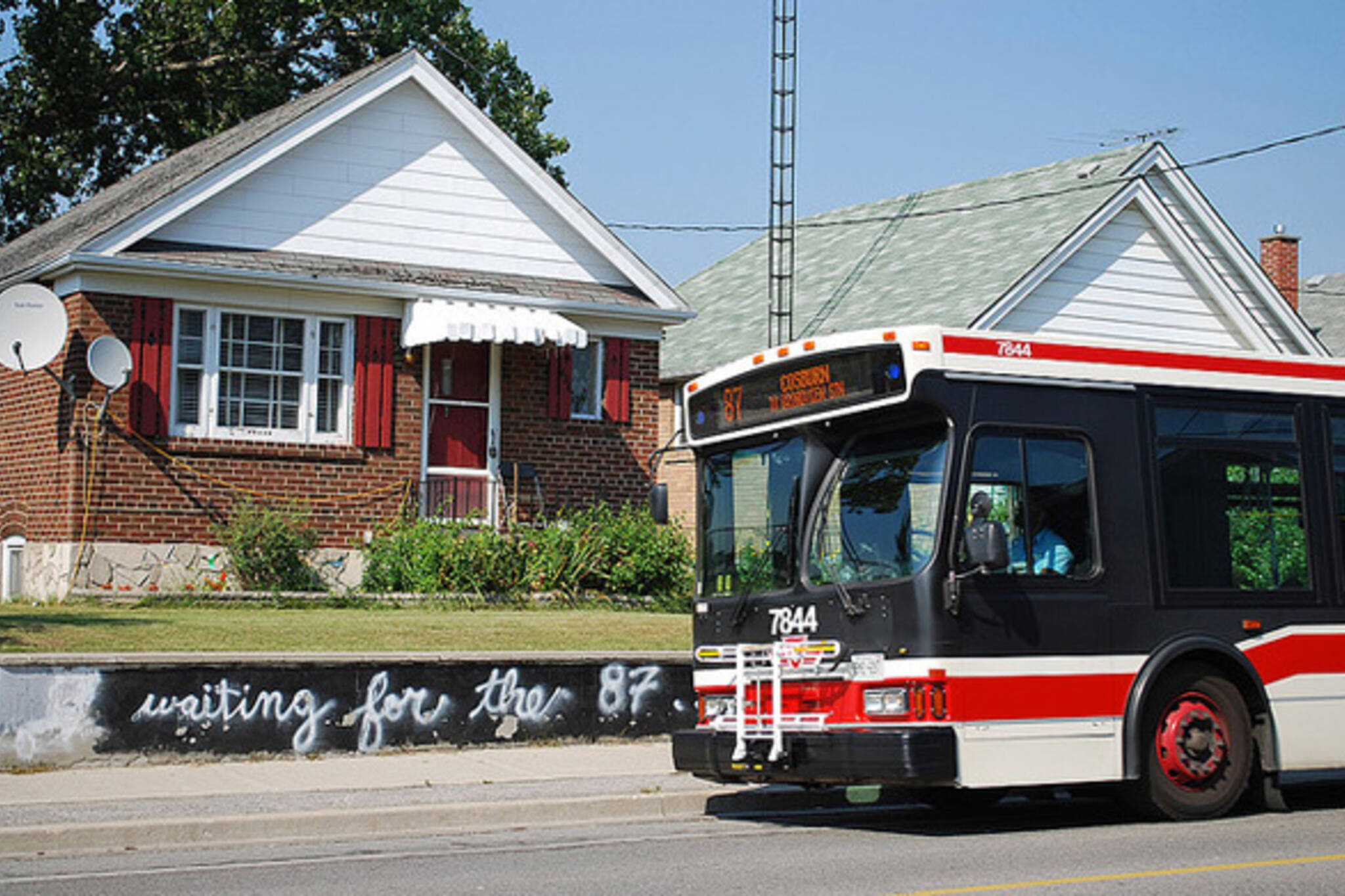 TTC GPS Bus arrival info