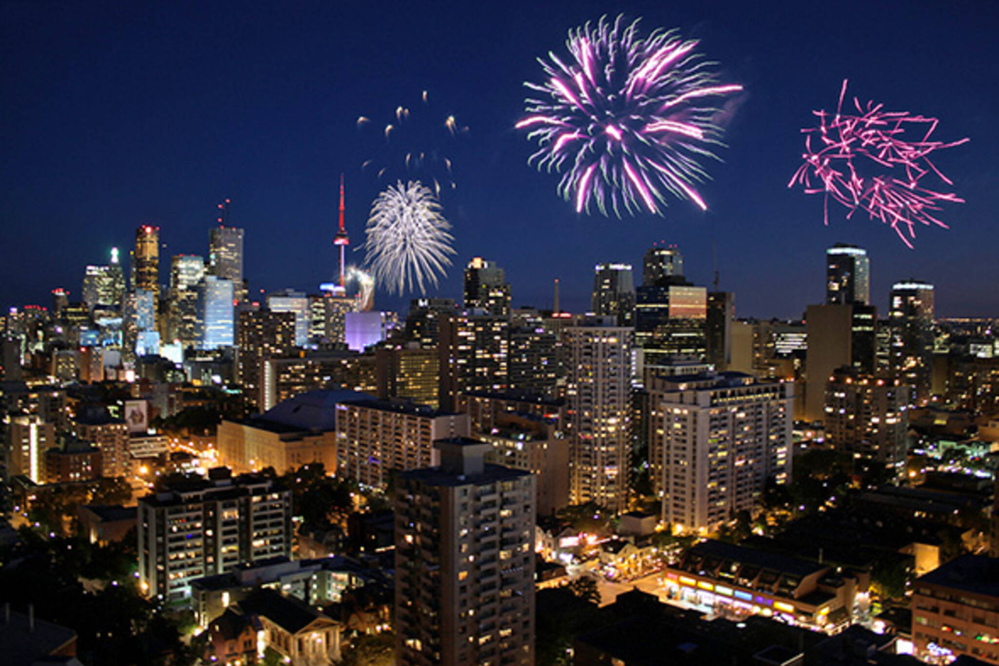 Canada Day Fireworks Toronto 2014