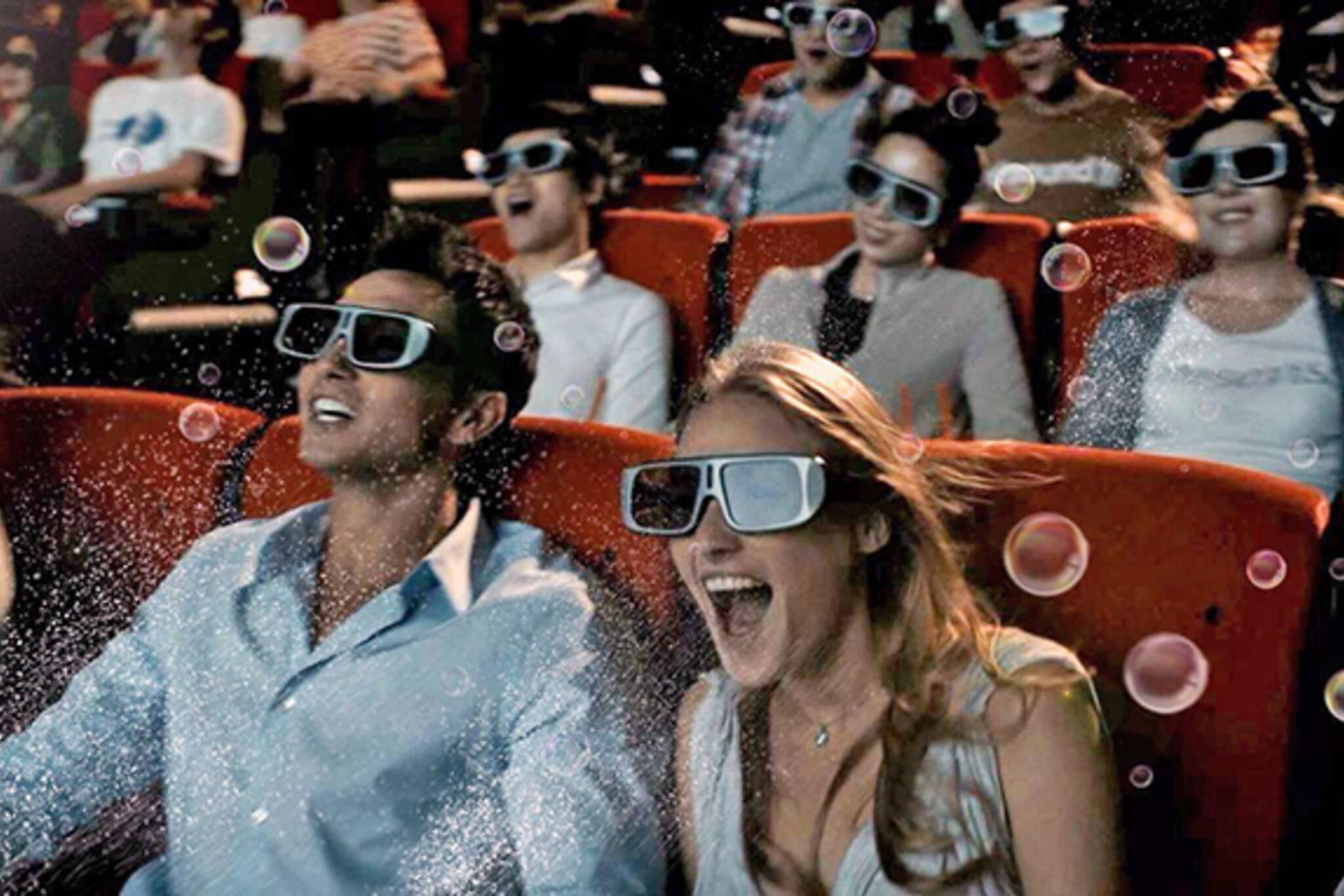 4DX movie toronto cineplex
