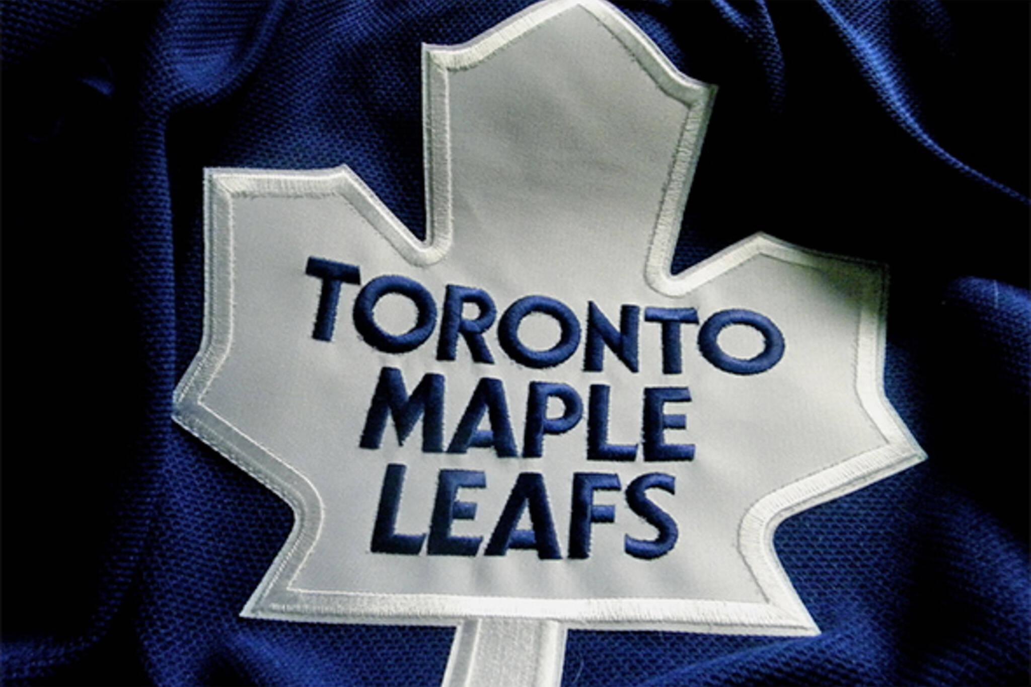 Leafs jersey ice