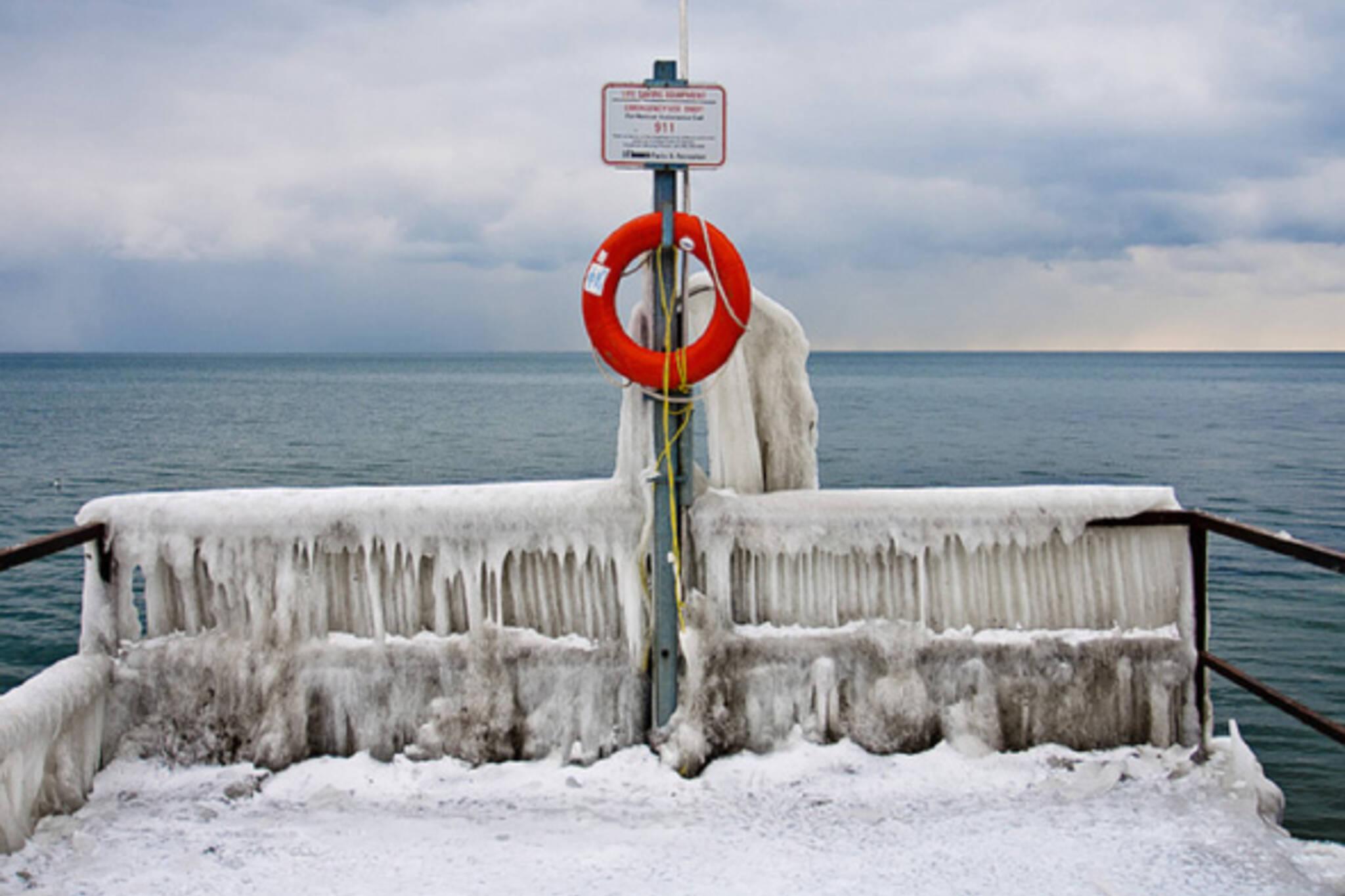 Winter Toronto Lake Ontario
