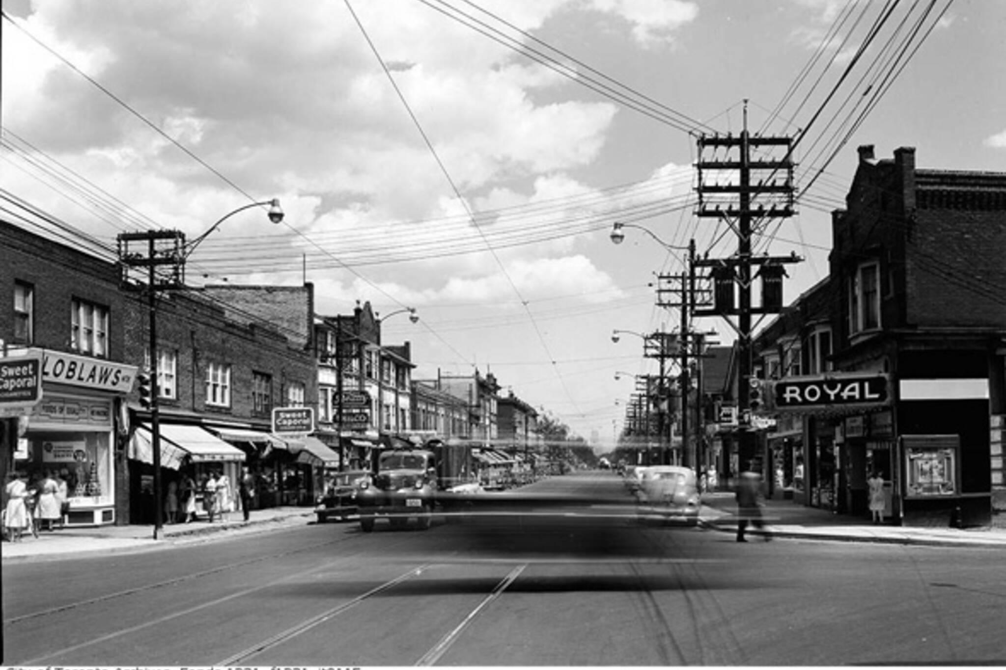Dufferin Street History Toronto