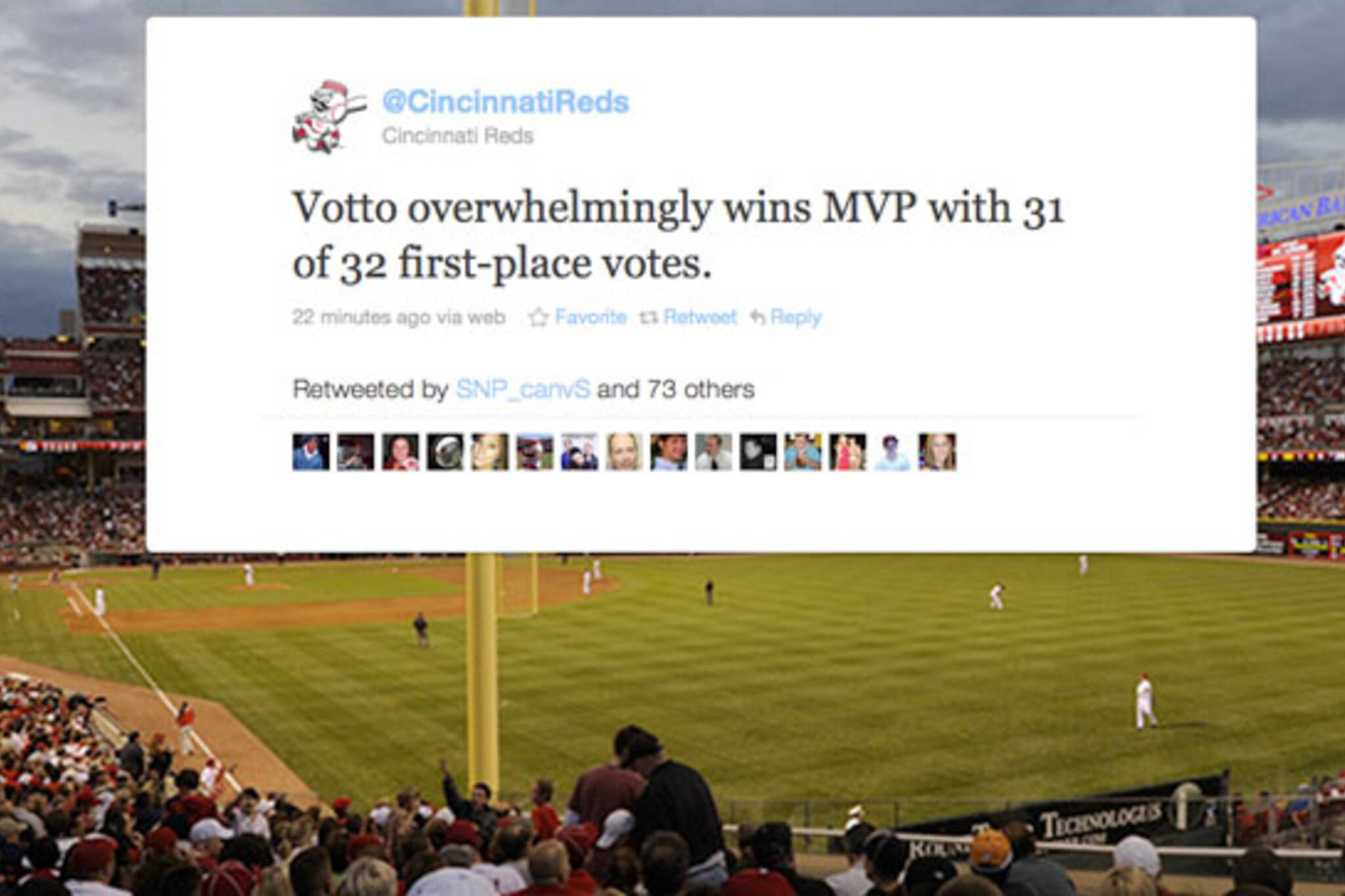 Joey Votto MVP