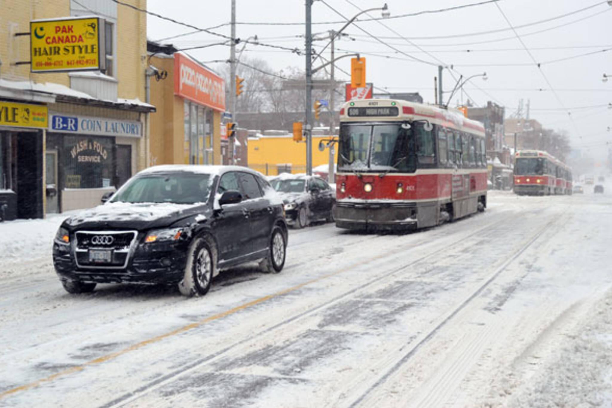toronto streetcar crash