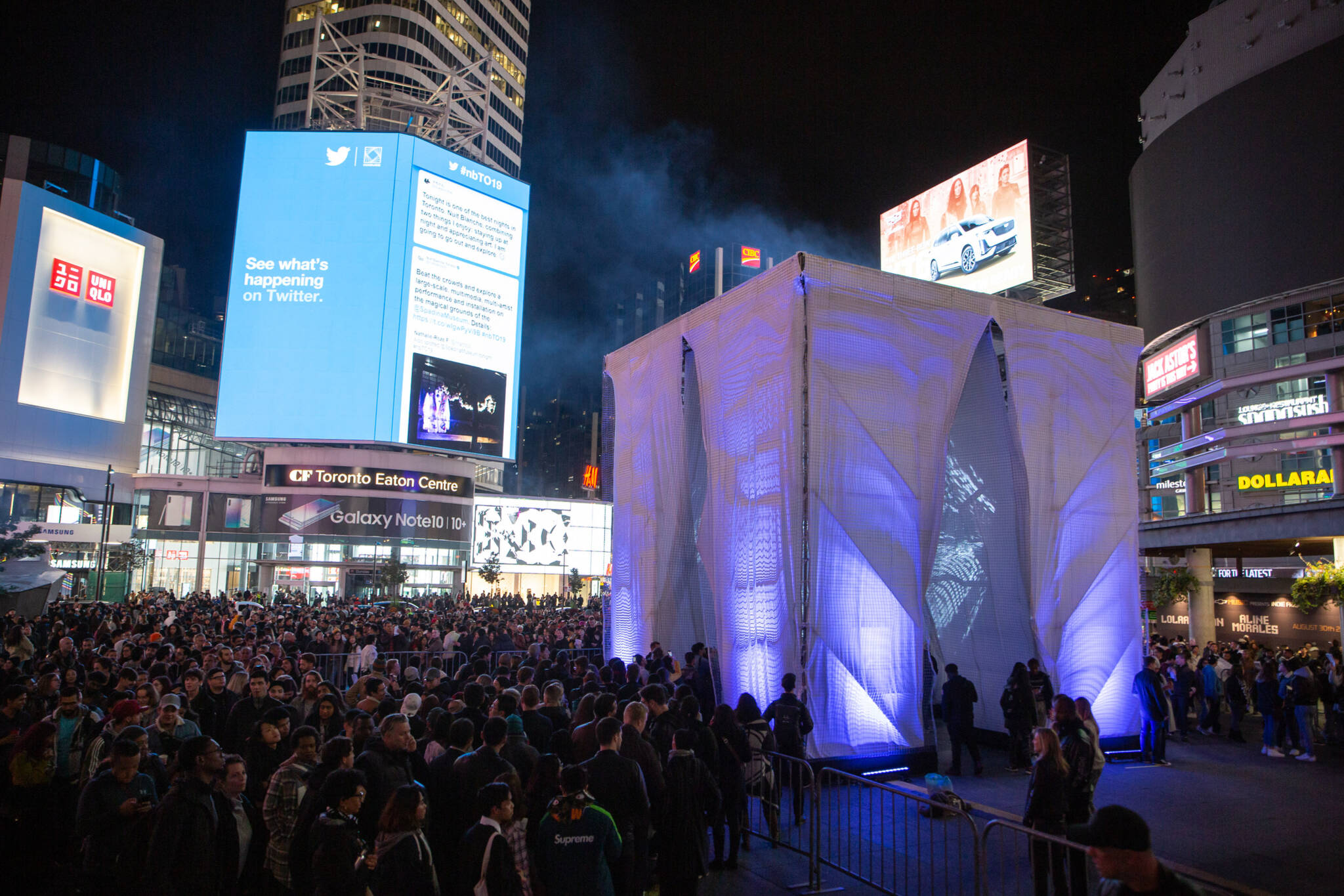 nuit blanche toronto 2019