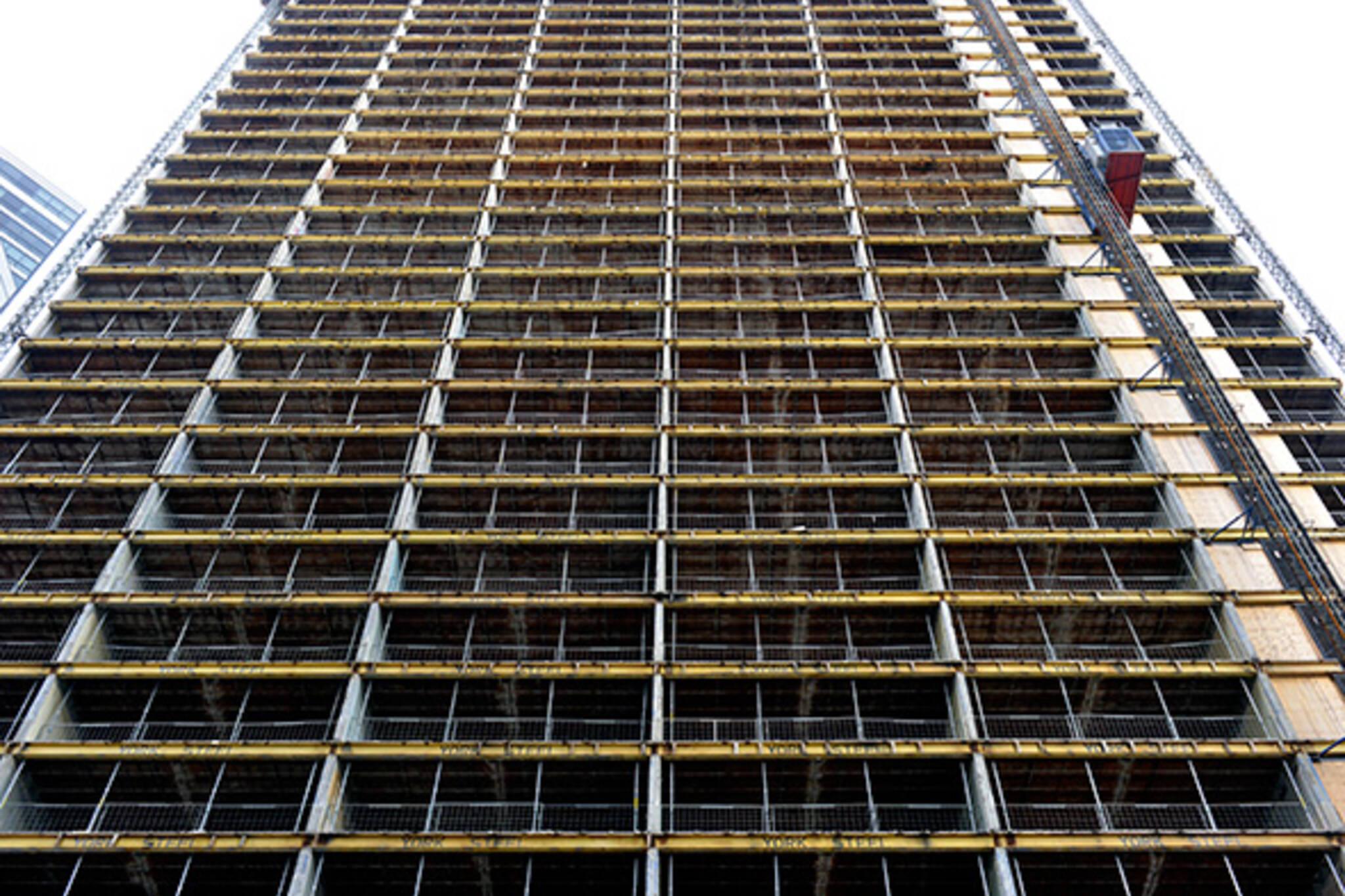 sutton place condo construction